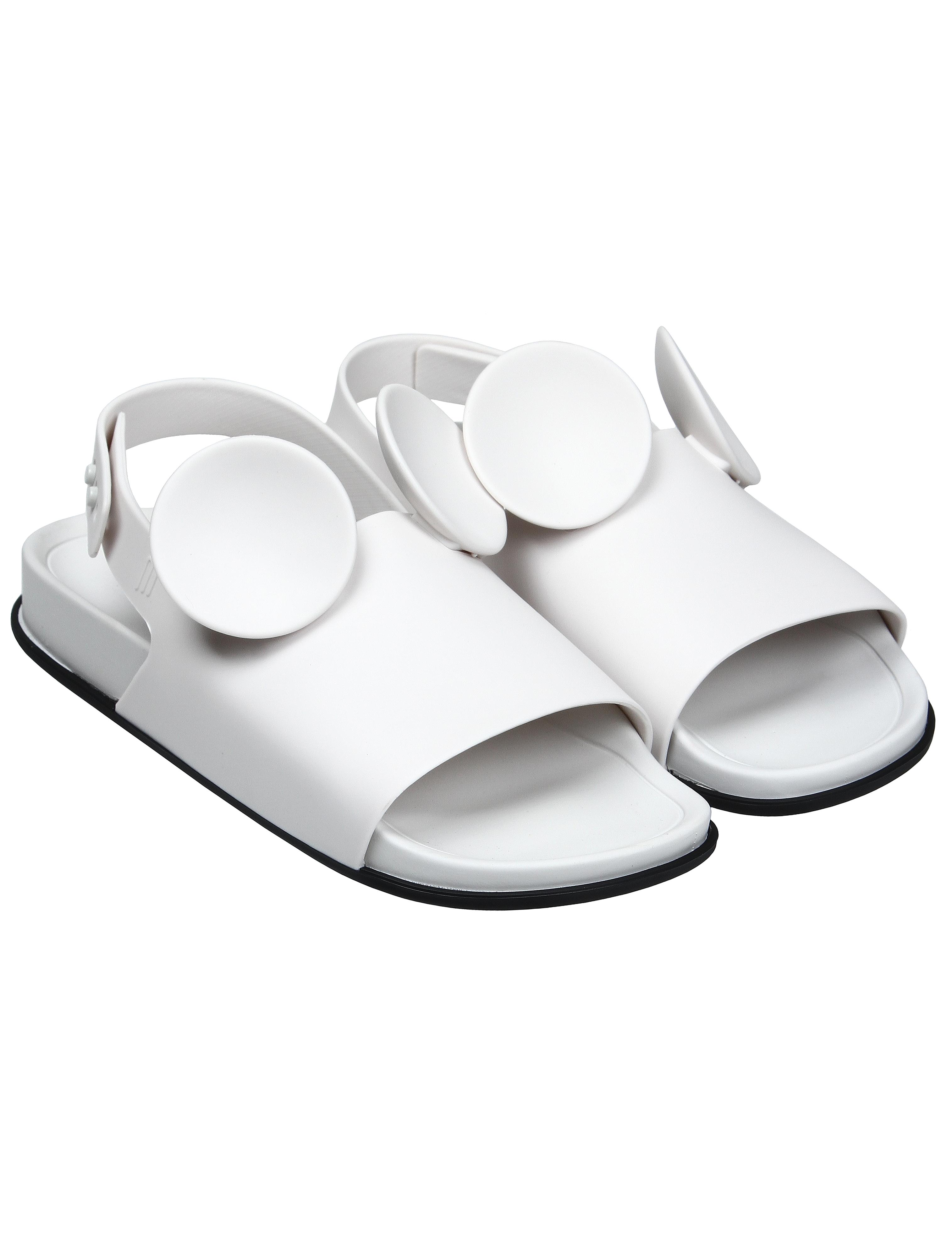 Купить 1924722, Шлепанцы пляжные MELISSA, белый, Женский, 2281208870208