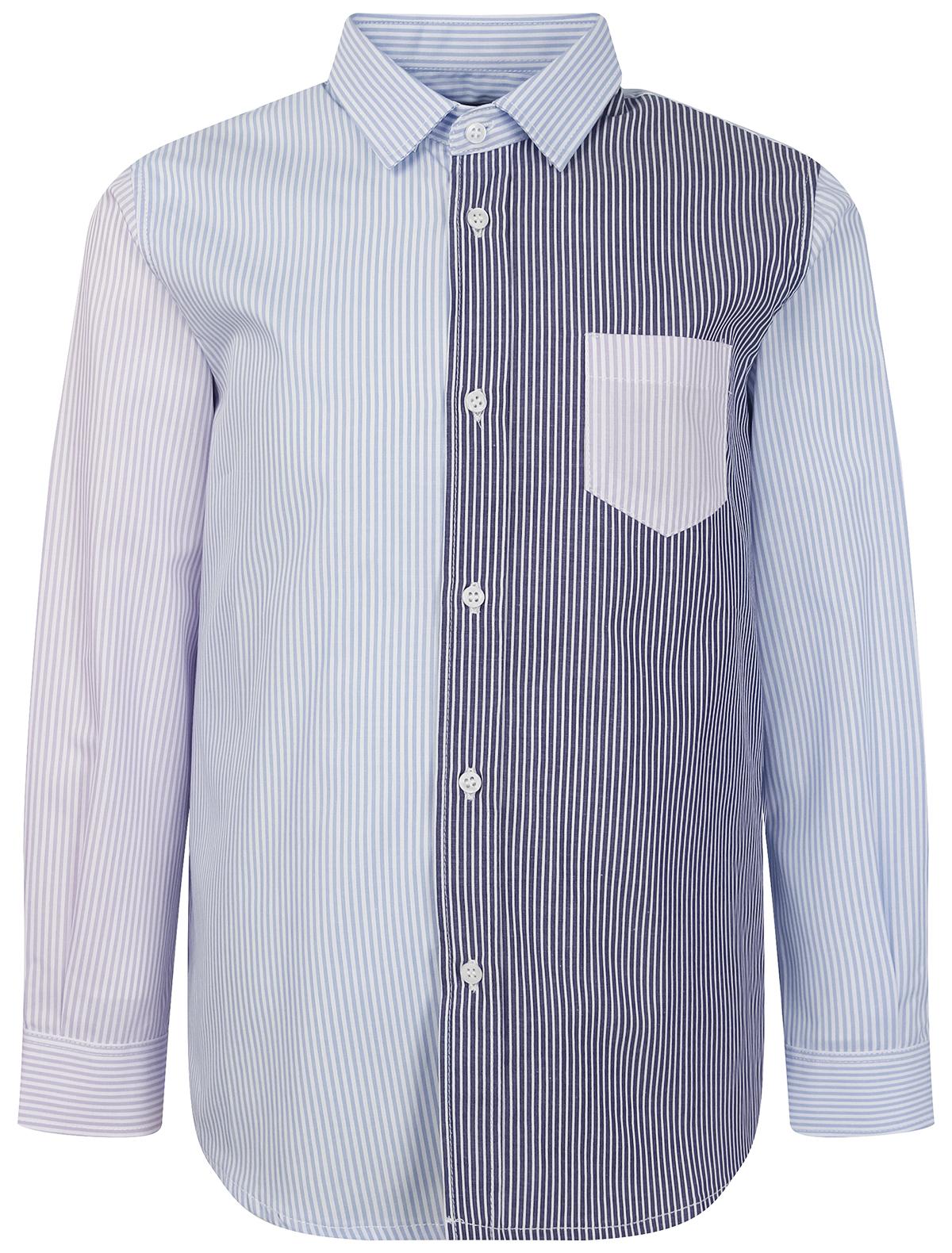 Купить 2279551, Рубашка Il Gufo, голубой, Мужской, 1014519170689