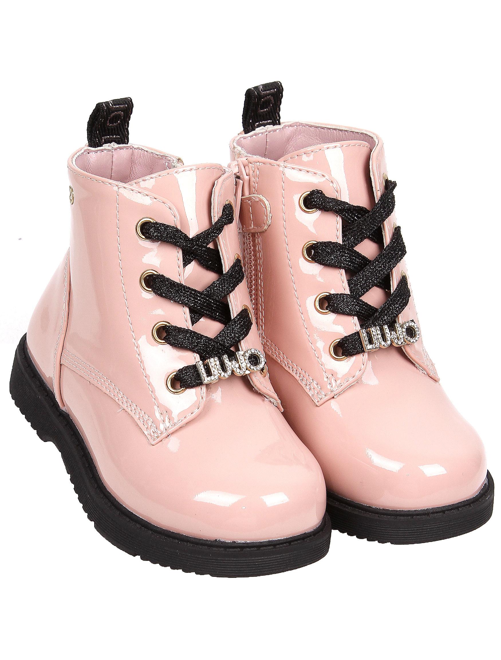 2254910, Ботинки Liu Jo Junior, розовый, Женский, 2034509083002  - купить со скидкой