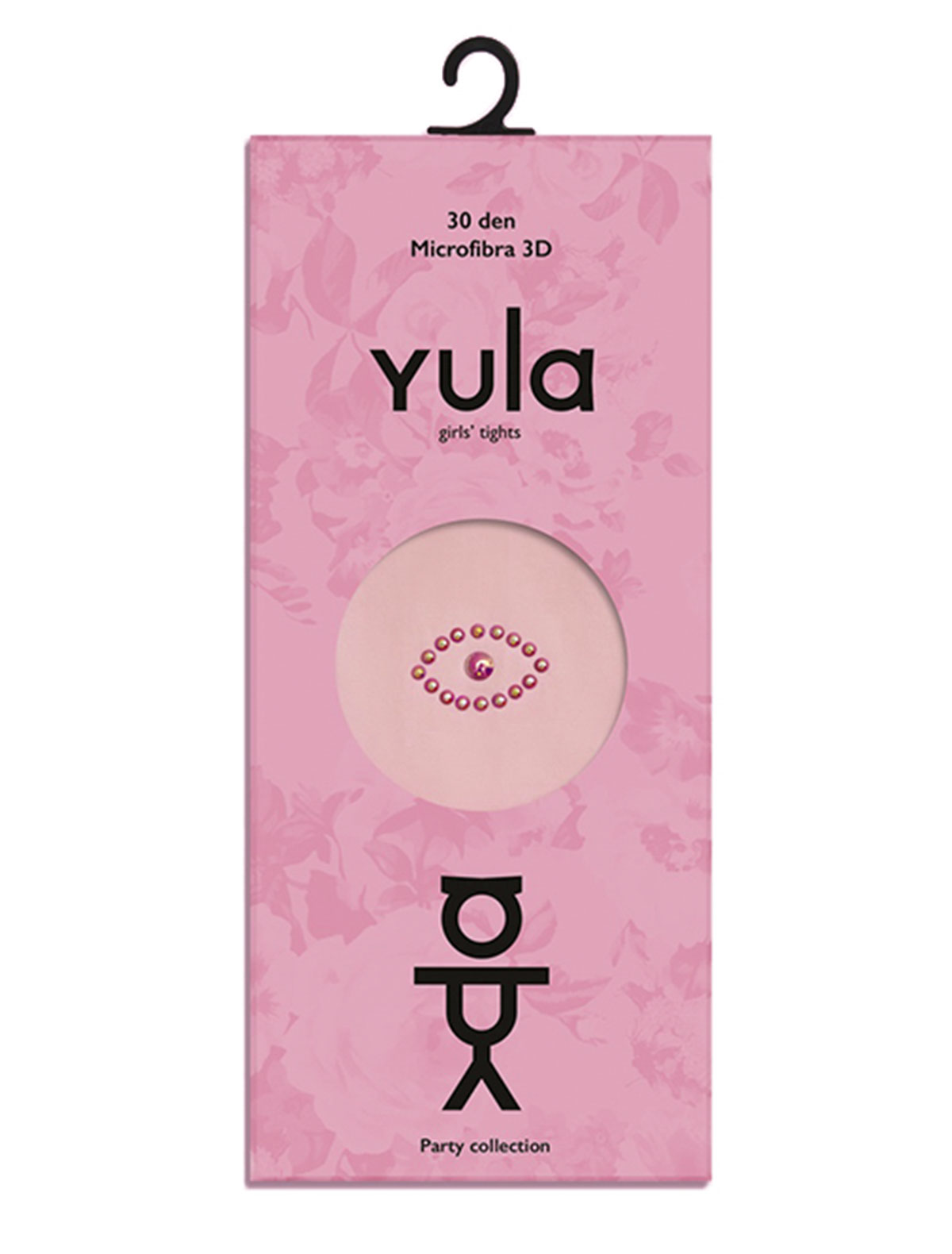 Купить 1898750, Колготки YULA, розовый, Женский, 1292609880476