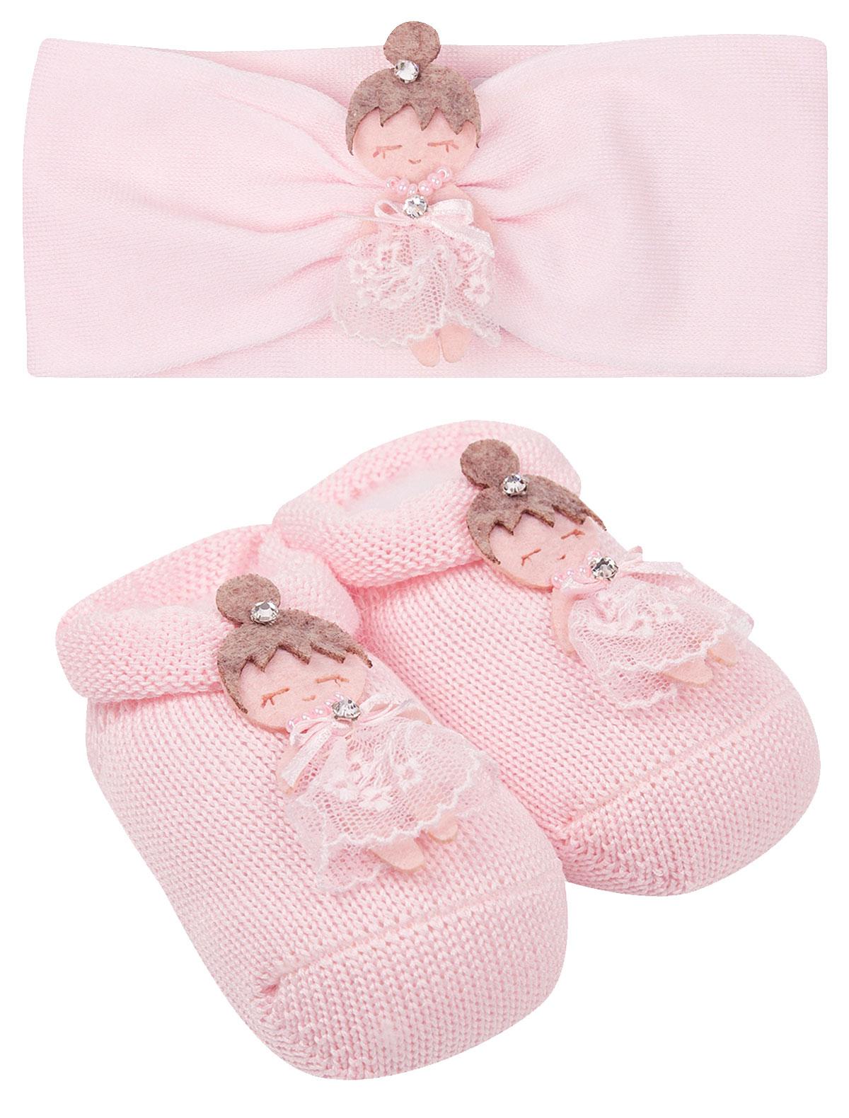 Купить 2223425, Комплект аксессуаров La Perla, розовый, Женский, 3004509070011
