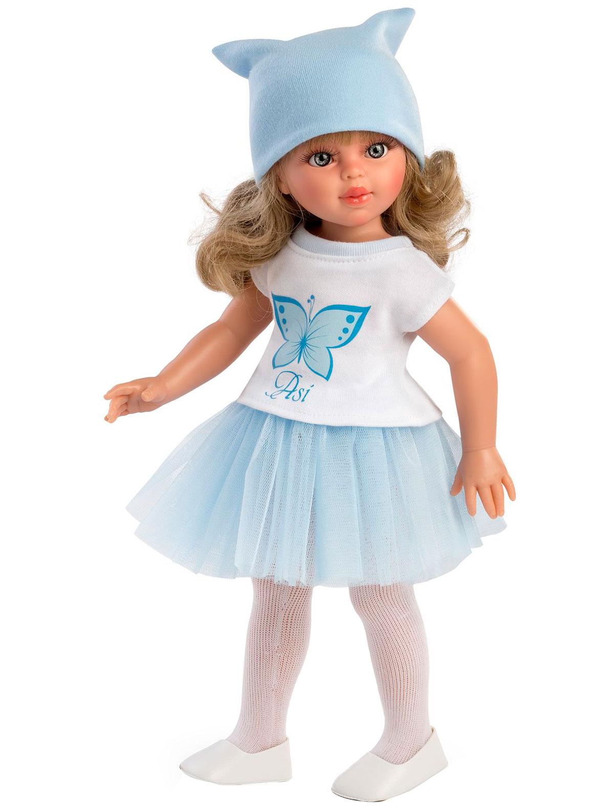 Кукла ASI 2308481 голубого цвета