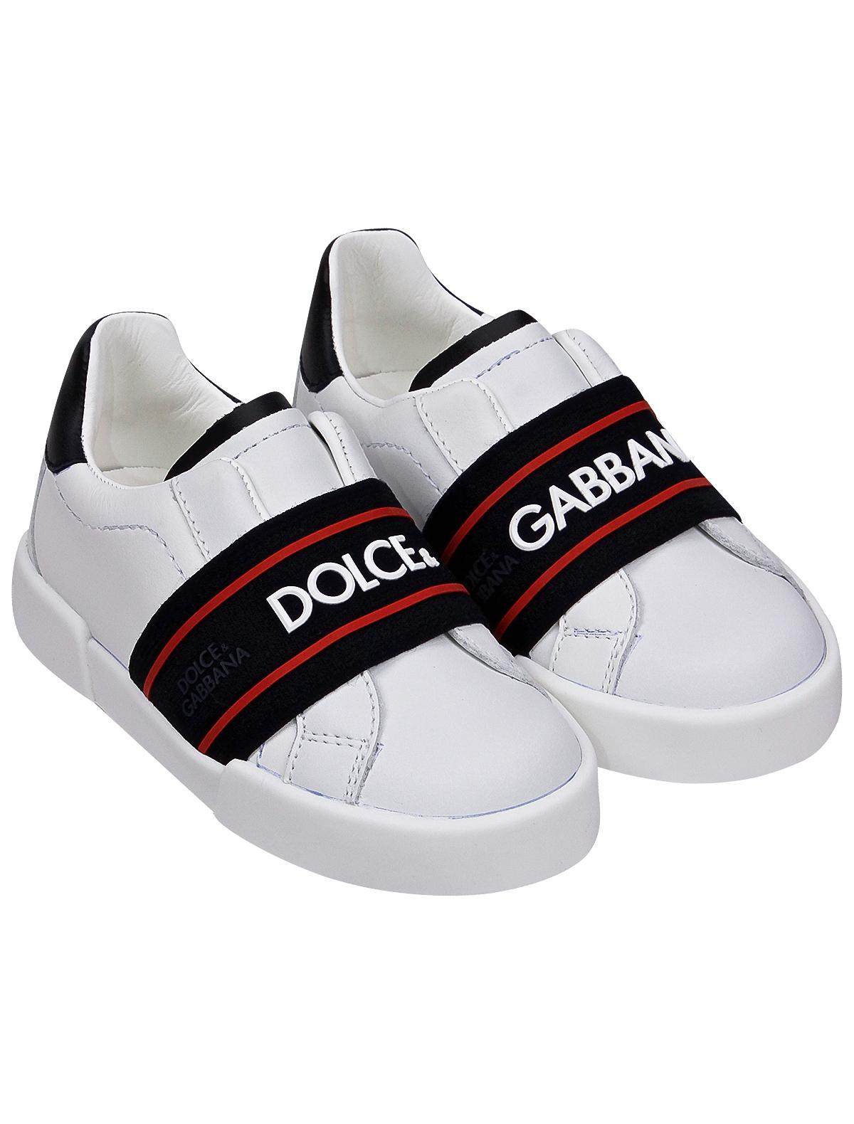 2281720, Кеды Dolce & Gabbana, белый, 2094529172094  - купить со скидкой