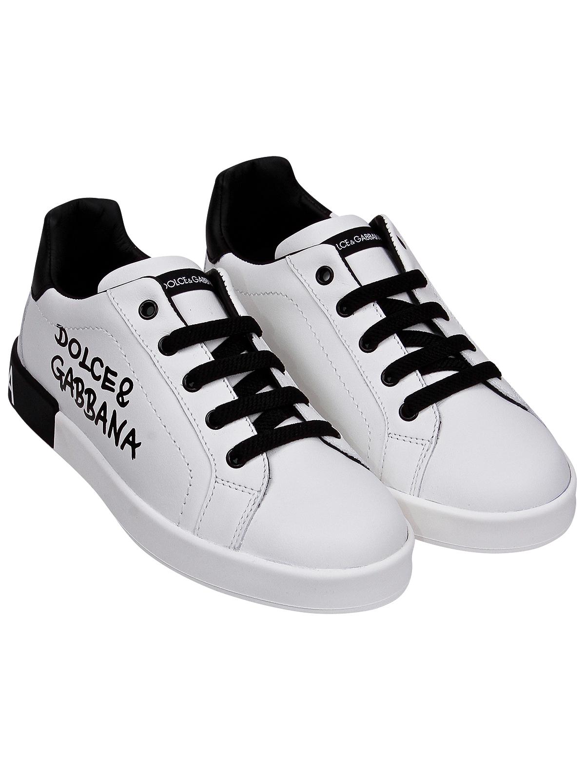 Купить 2281878, Кеды Dolce & Gabbana, белый, 2094529172025