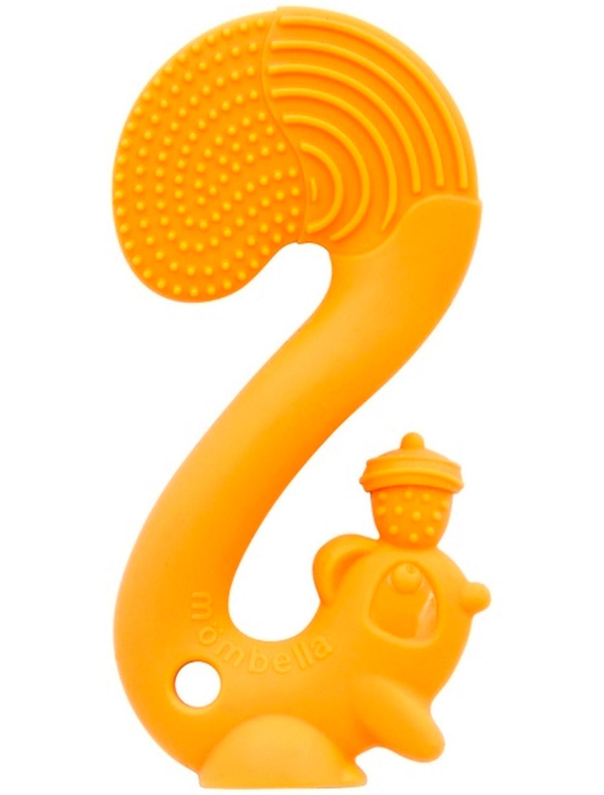 Купить 2214194, Прорезыватель для зубов Mombella, оранжевый, 5644520070010