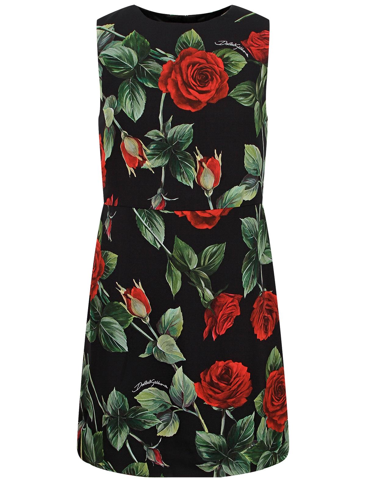 Купить 2357105, Платье Dolce & Gabbana, черный, Женский, 1054609185049