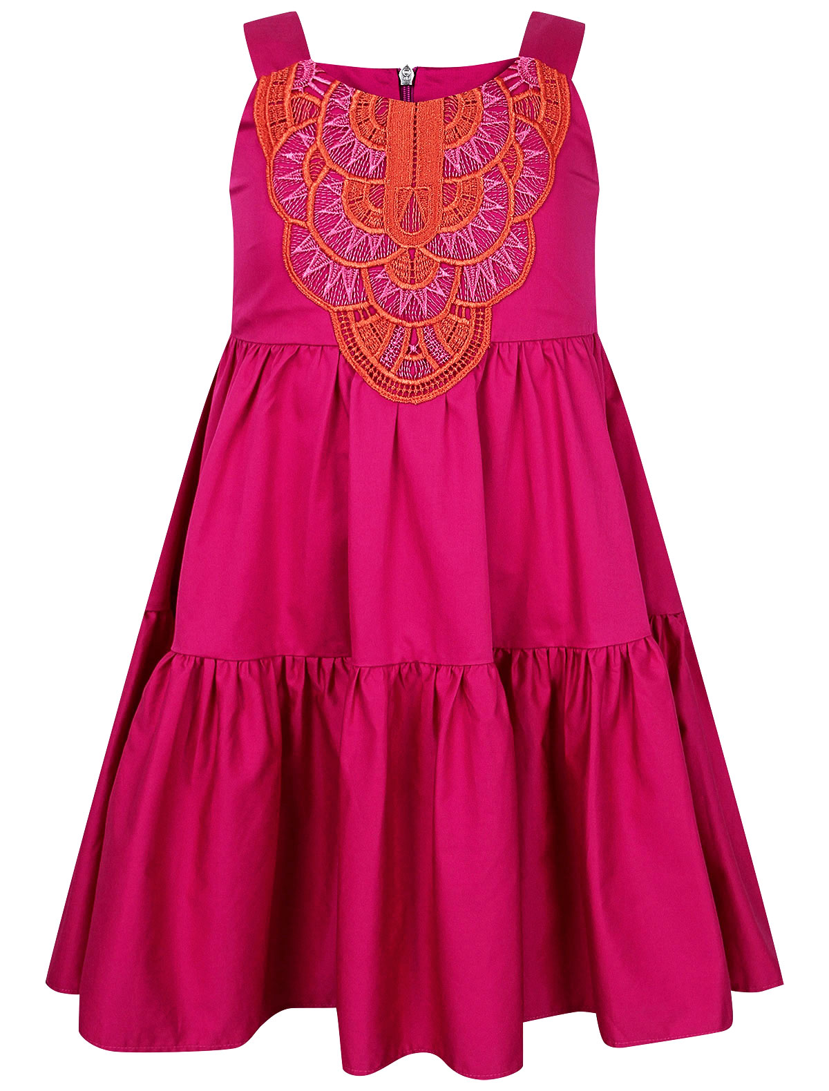 Купить 2302762, Платье ALBERTA FERRETTI, розовый, Женский, 1054609174067