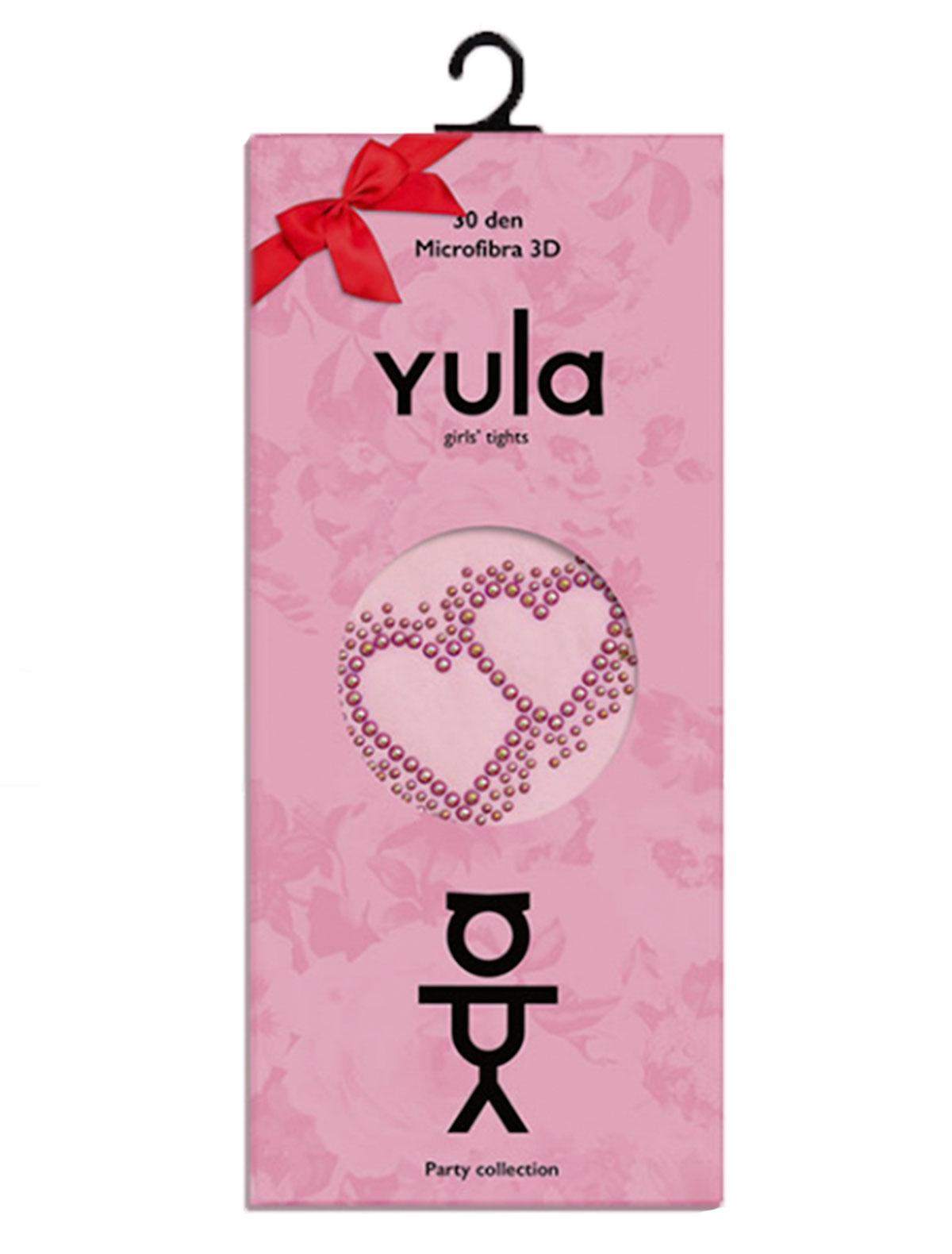 Купить 1898758, Колготки YULA, розовый, Женский, 1292609880506