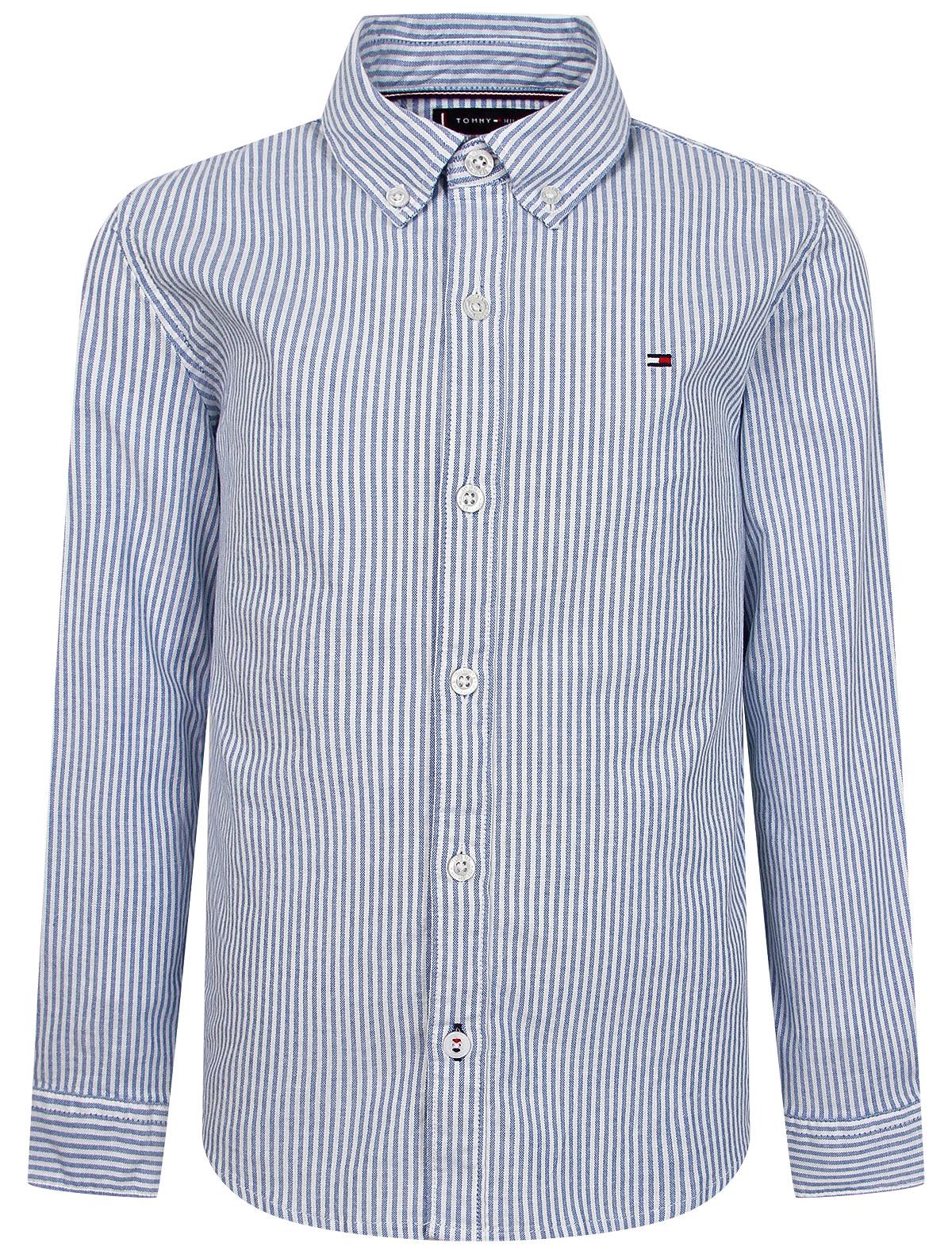 2312968, Рубашка TOMMY HILFIGER, голубой, Мужской, 1014519172980  - купить со скидкой
