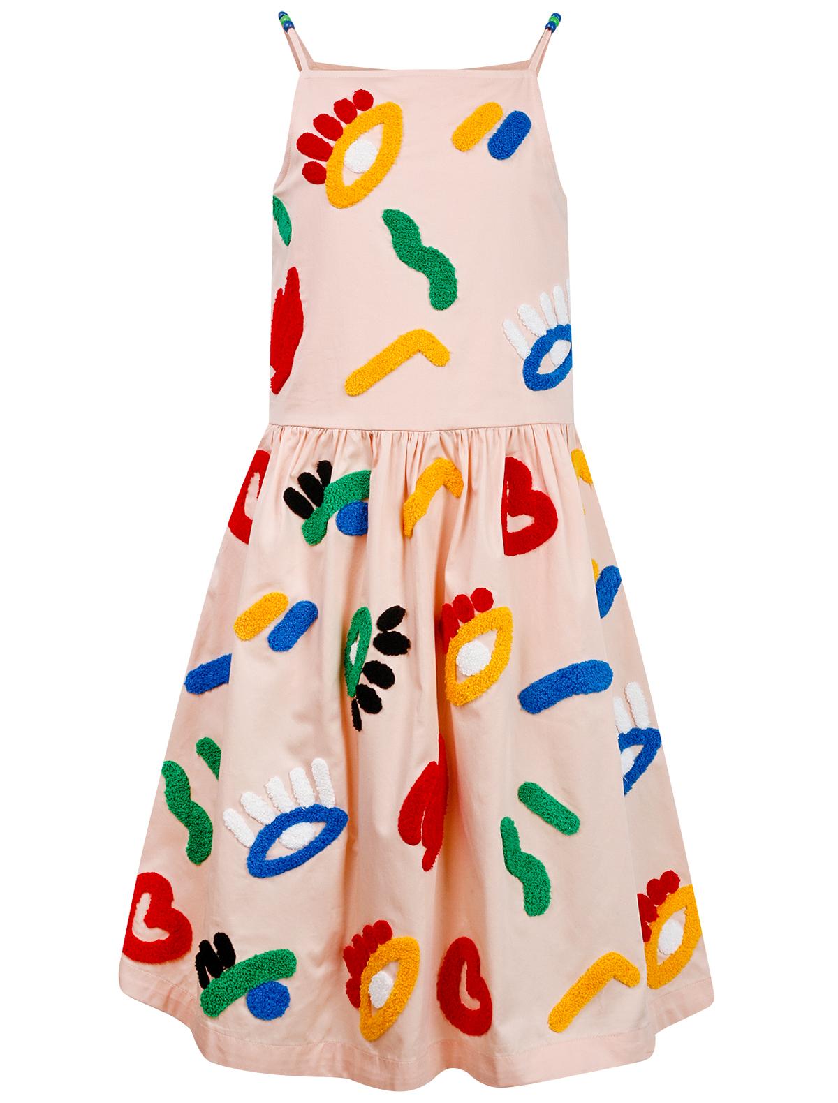 Купить 2157819, Платье Stella McCartney, розовый, Женский, 1052609070440
