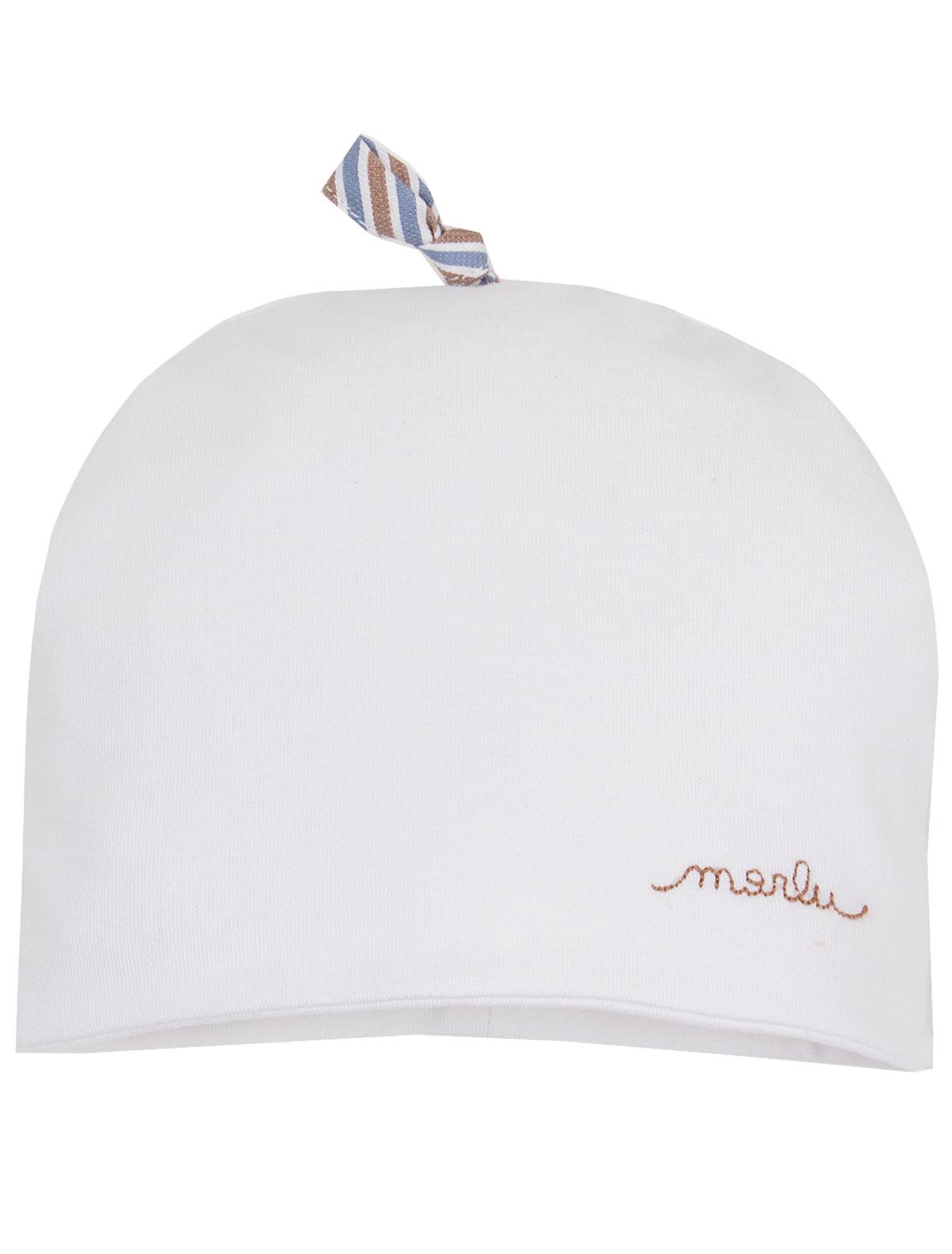 Шапка Marlu белого цвета