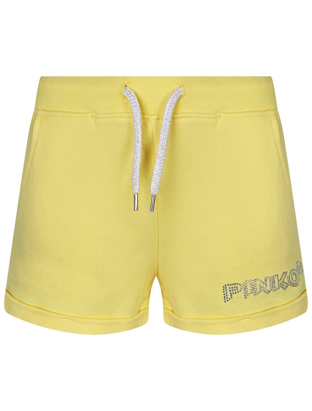 2303700, Шорты Pinko Up, желтый, Женский, 1414509174770  - купить со скидкой