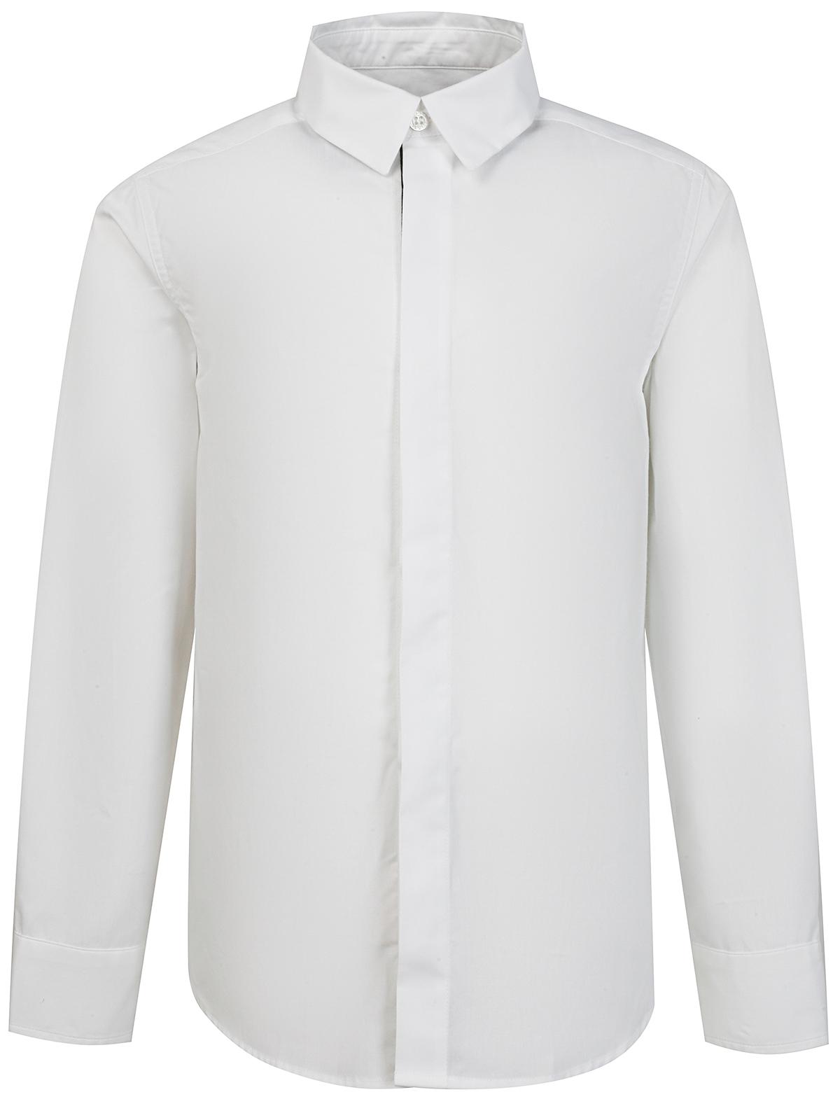 Купить 2159388, Рубашка Fendi, белый, Мужской, 1011219071797