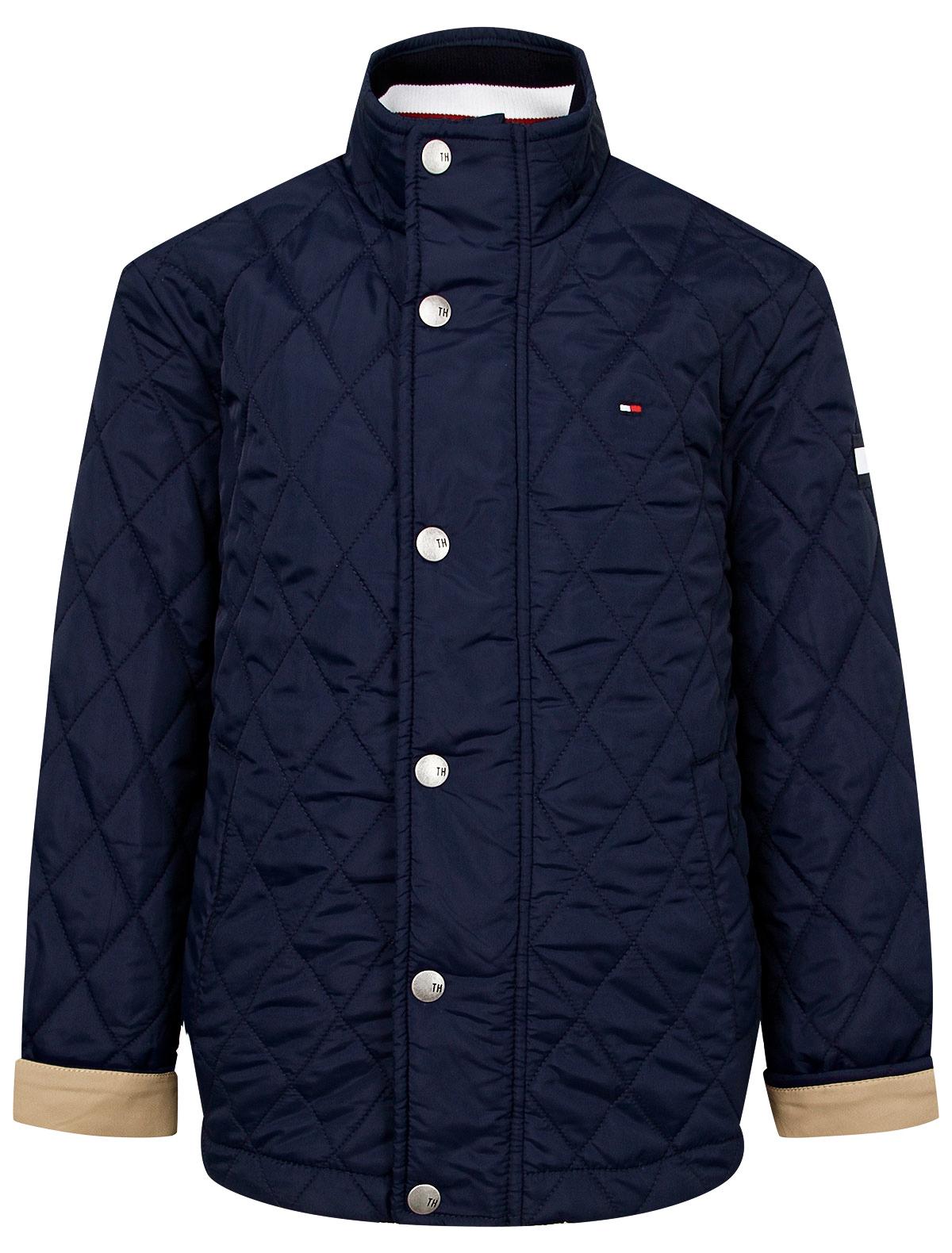 Купить 2173583, Куртка TOMMY HILFIGER, синий, Мужской, 1074519071645