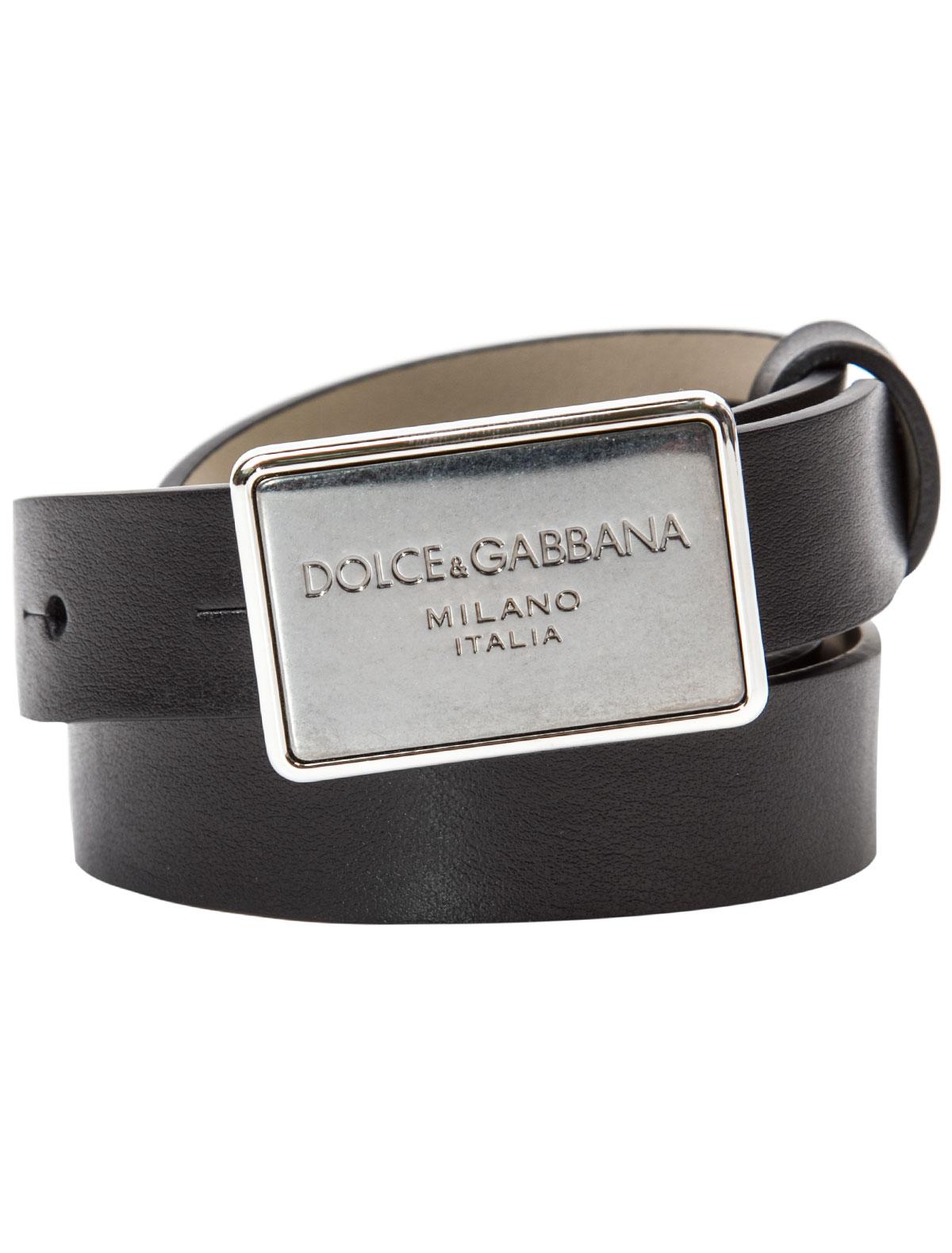 Купить 1845757, Ремень Dolce & Gabbana, черный, Мужской, 1301118680085