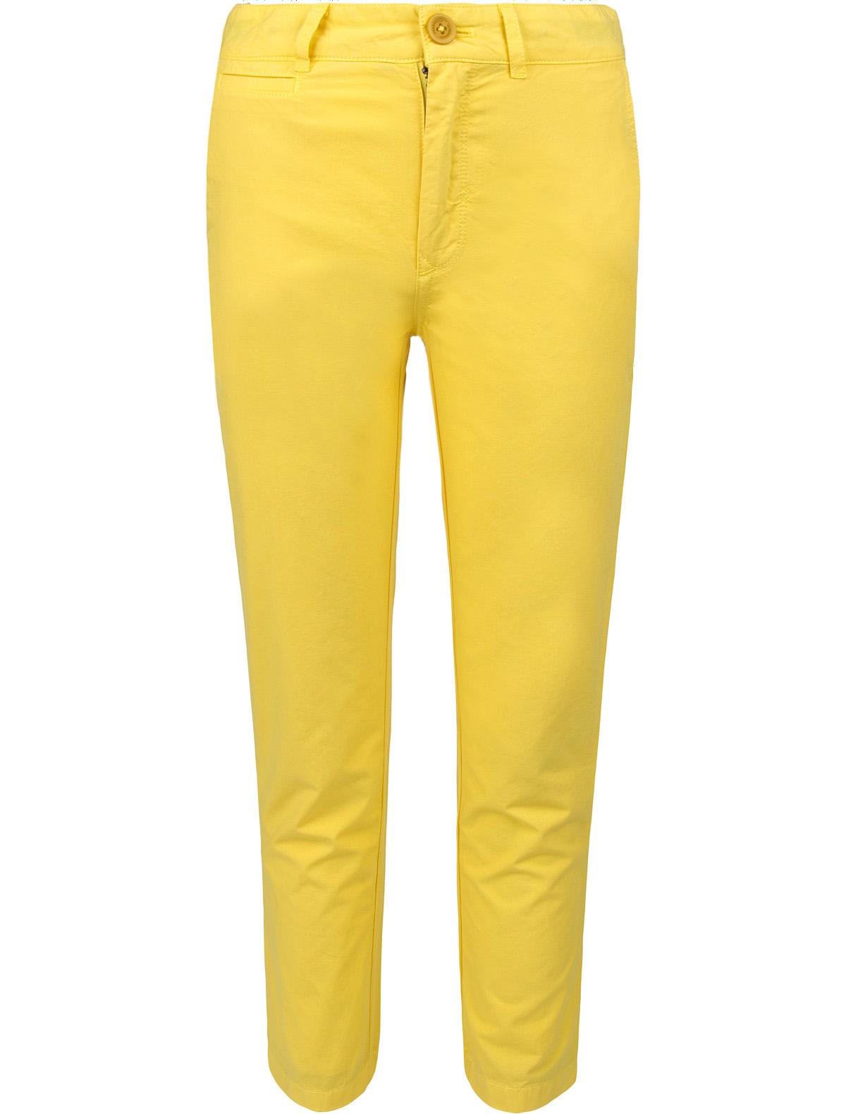 Купить 1878391, Брюки Burberry, желтый, Мужской, 1082819770052