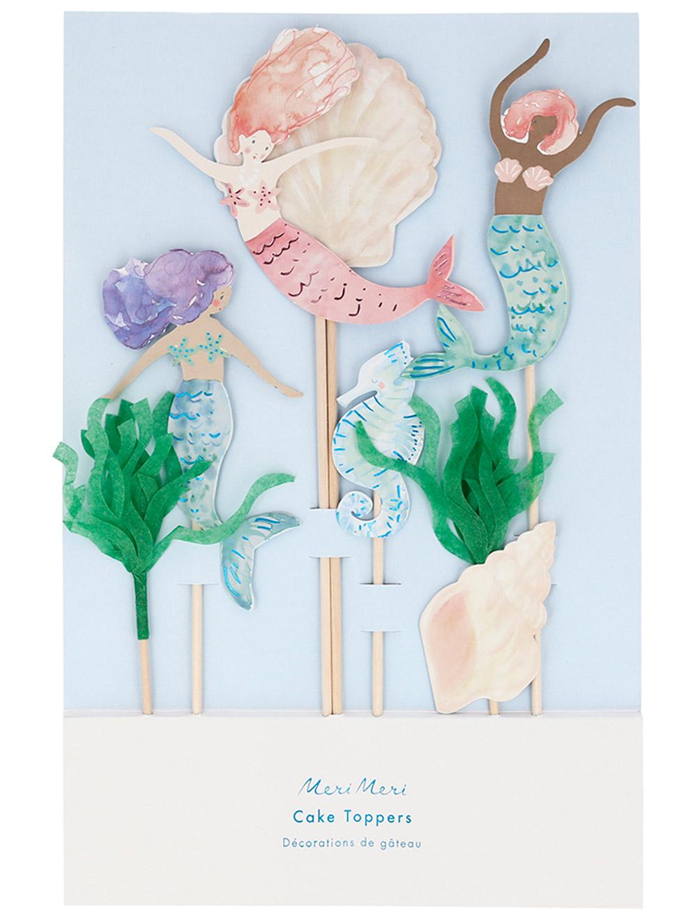Купить 2322915, Украшение для праздника Meri Meri, голубой, 6584520170565
