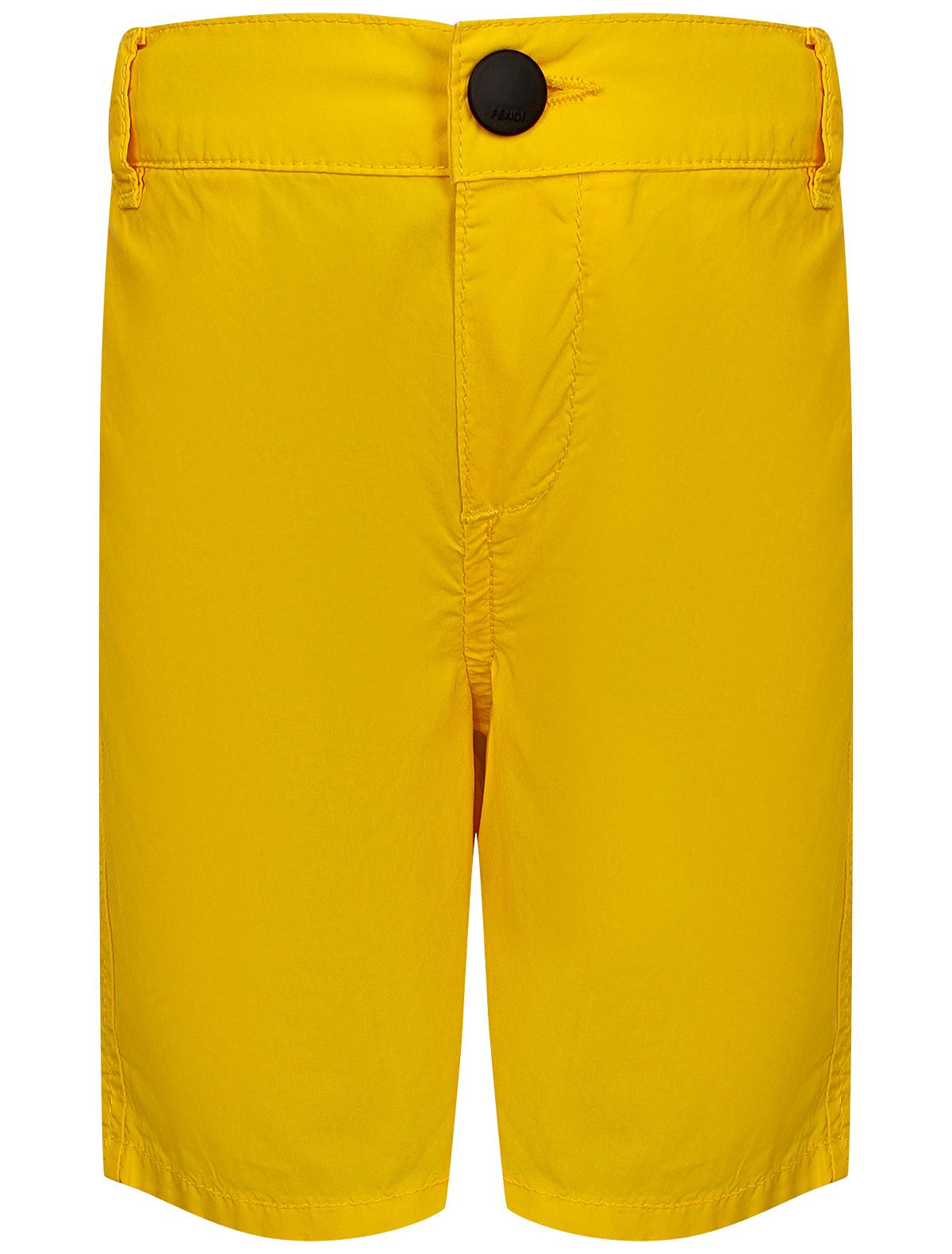 Купить 1964807, Шорты Fendi, желтый, Мужской, 1412819971652