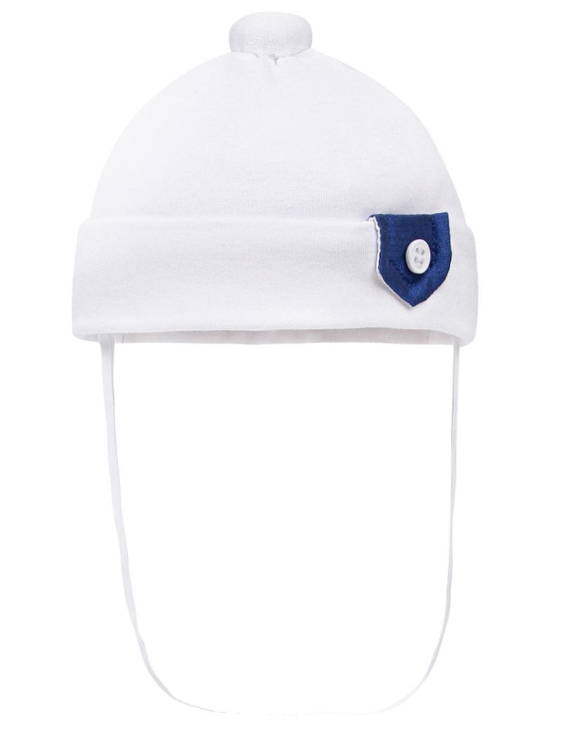 Шапка Aletta белого цвета