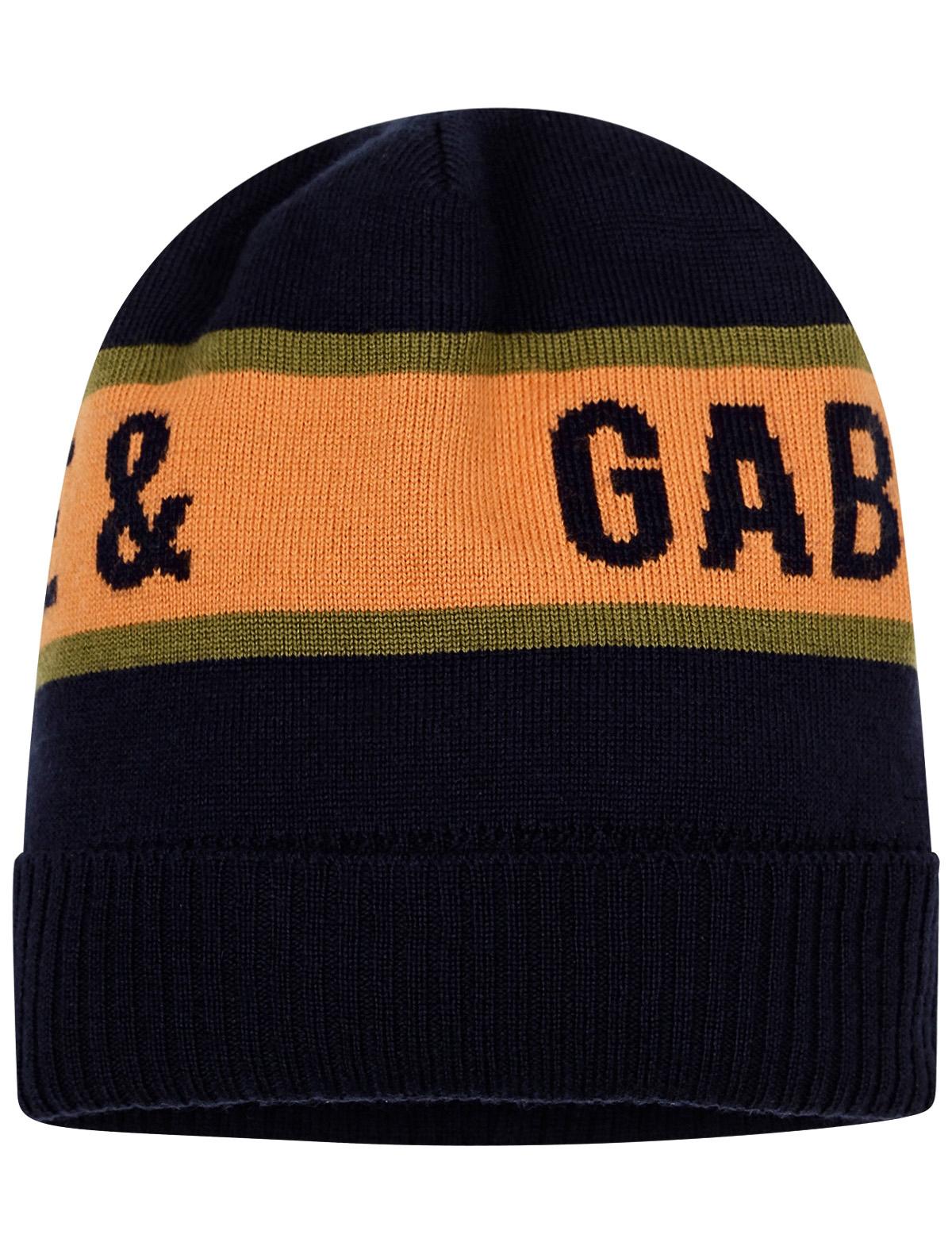 Купить 2264164, Шапка Dolce & Gabbana, синий, Мужской, 1354519081593
