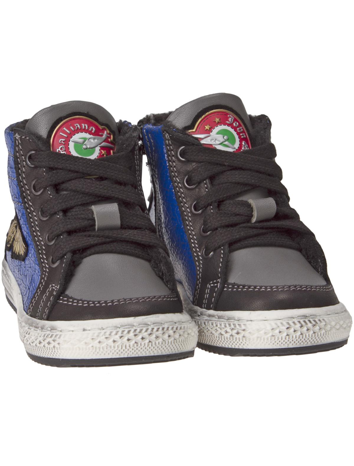 Купить 1917647, Ботинки John Galliano, черный, Мужской, 2032519580030