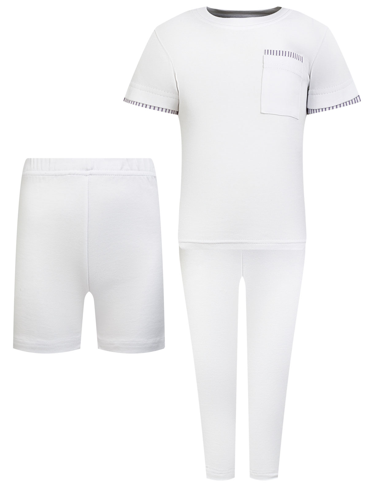 Купить 2351123, Пижама Backary, белый, 0214520180054