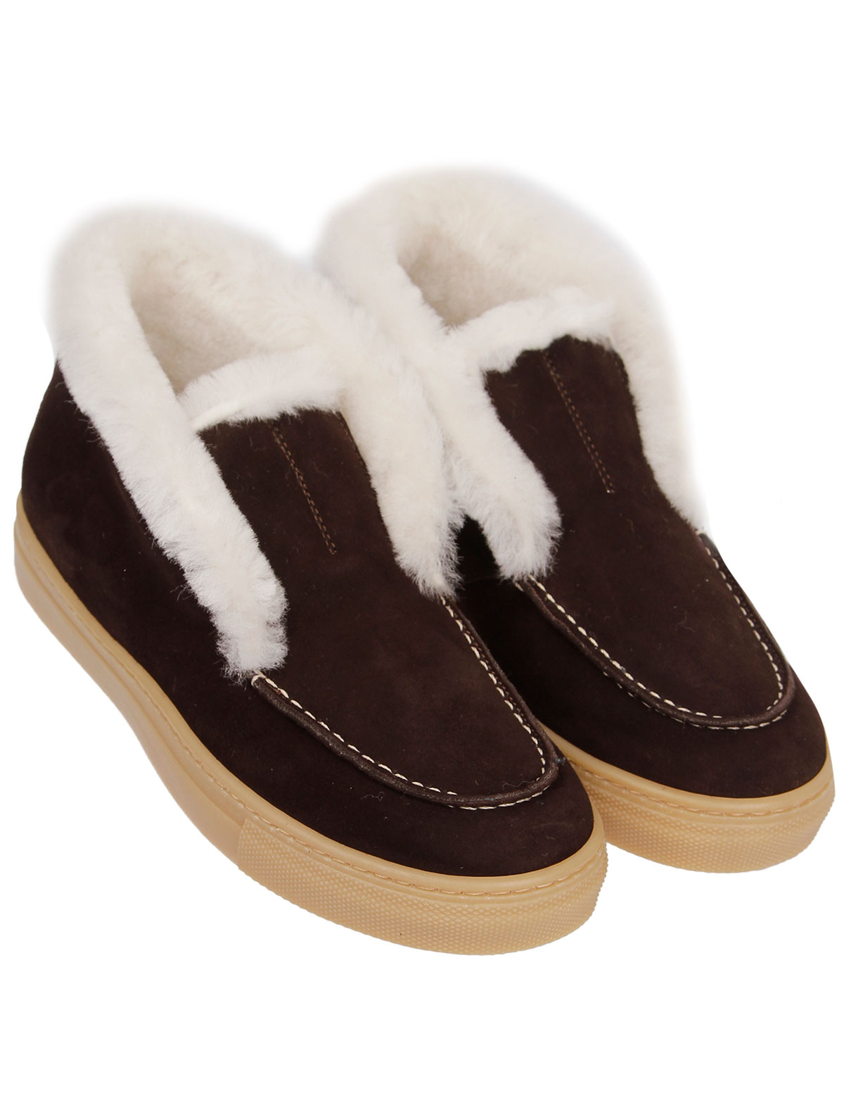 2340727, Ботинки GALLUCCI, коричневый, Женский, 2034509181296  - купить со скидкой