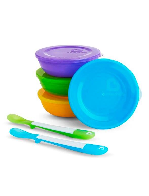 Купить 2215571, Набор посуды Munchkin, разноцветный, 2294528070616