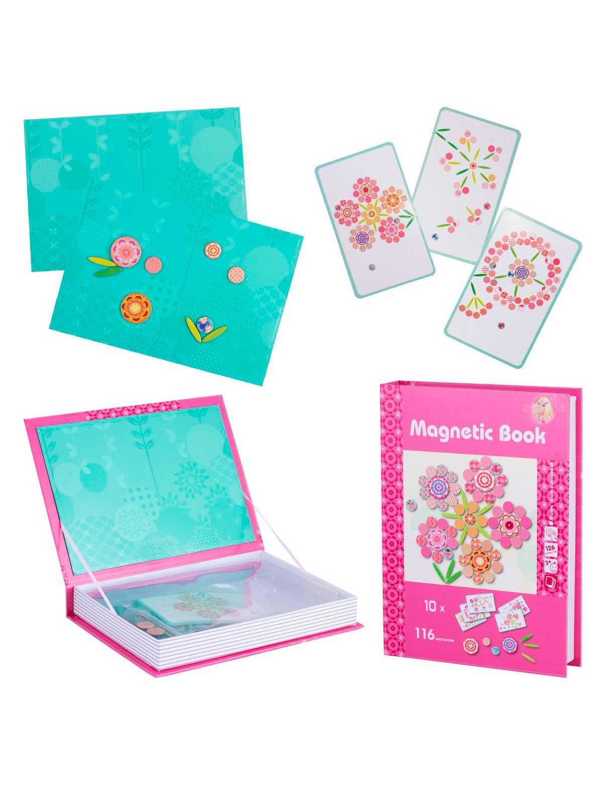 Купить 2267921, Игрушка Magnetic Book, розовый, 7134529083749