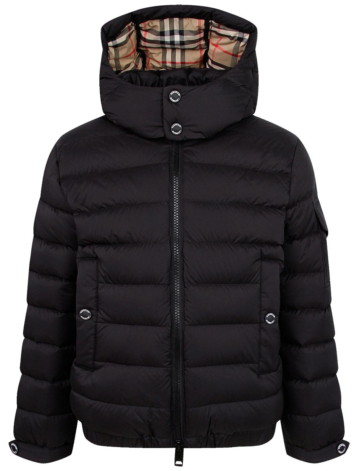 Купить 2236650, Куртка Burberry, черный, 1074529080057