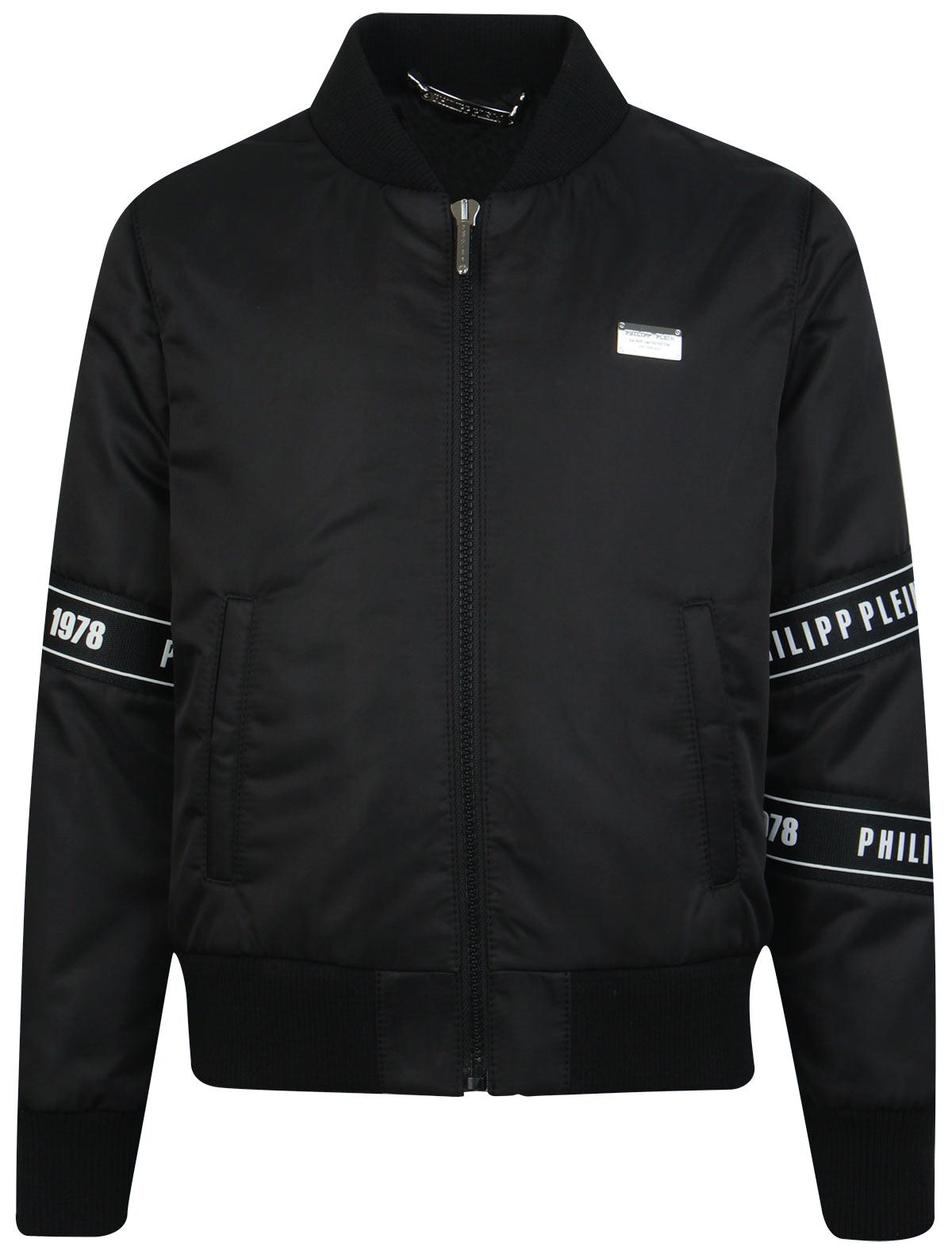 Купить 1963371, Куртка Philipp Plein, черный, Мужской, 1071119970033