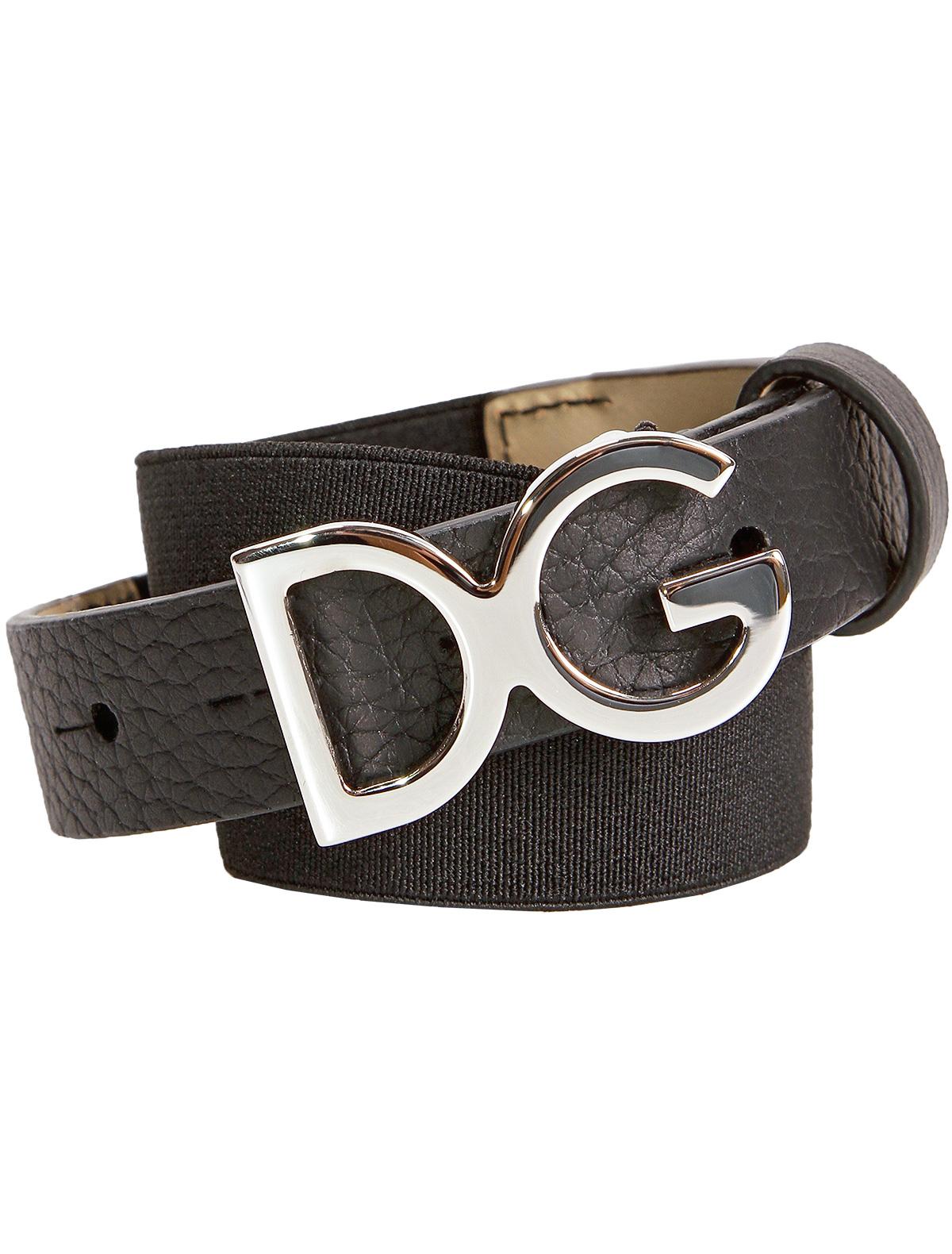 Купить 1845748, Ремень Dolce & Gabbana, черный, Мужской, 1301118880546