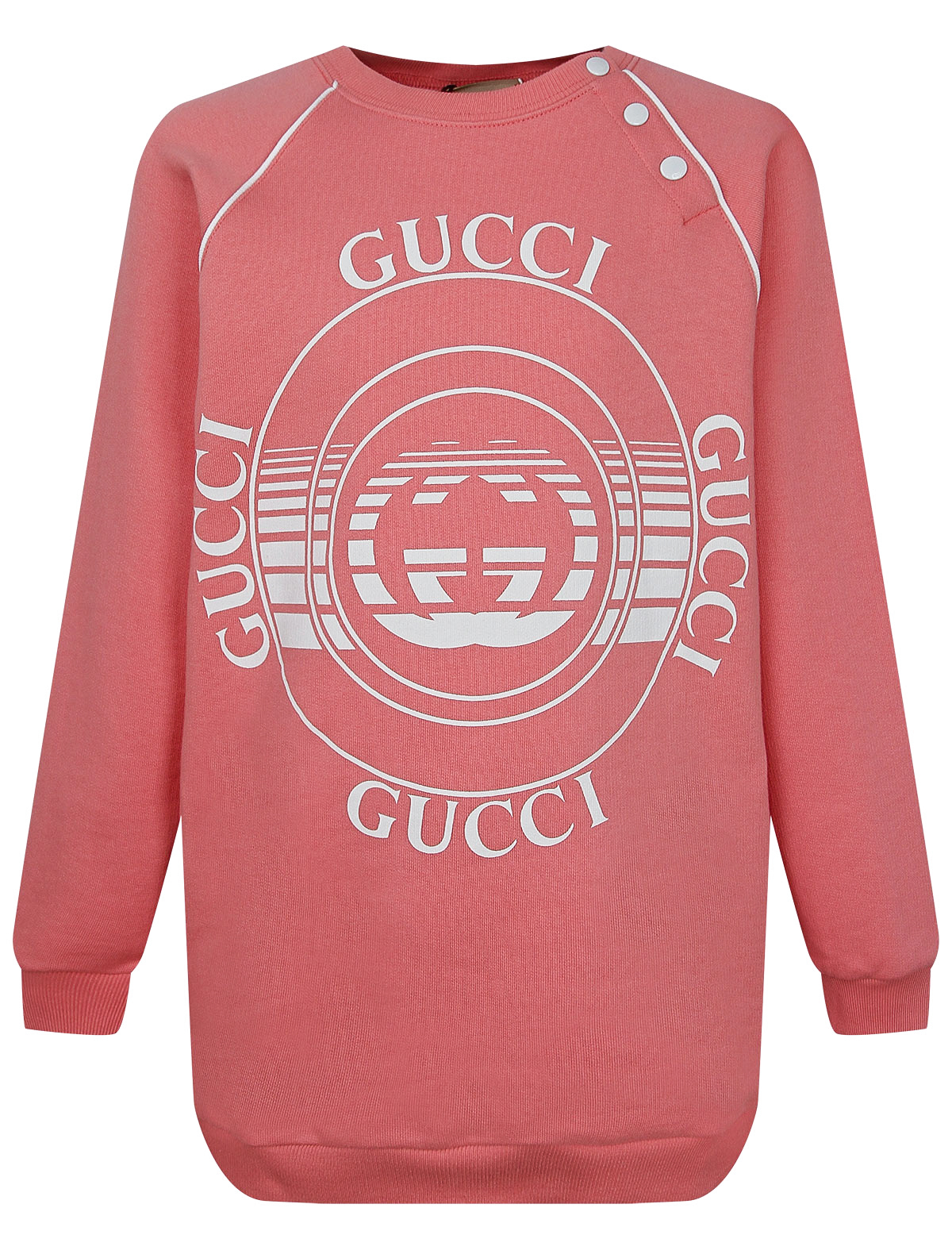 Купить 2276062, Свитшот GUCCI, розовый, Женский, 0084509171867