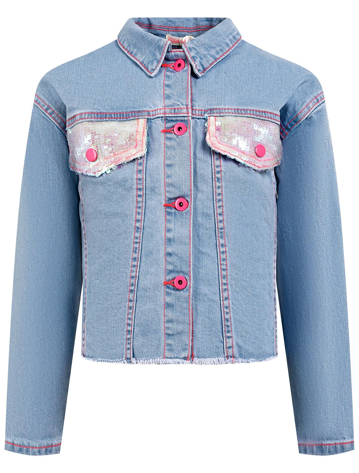 Купить 2311275, Куртка Billieblush, голубой, Женский, 1074509173953