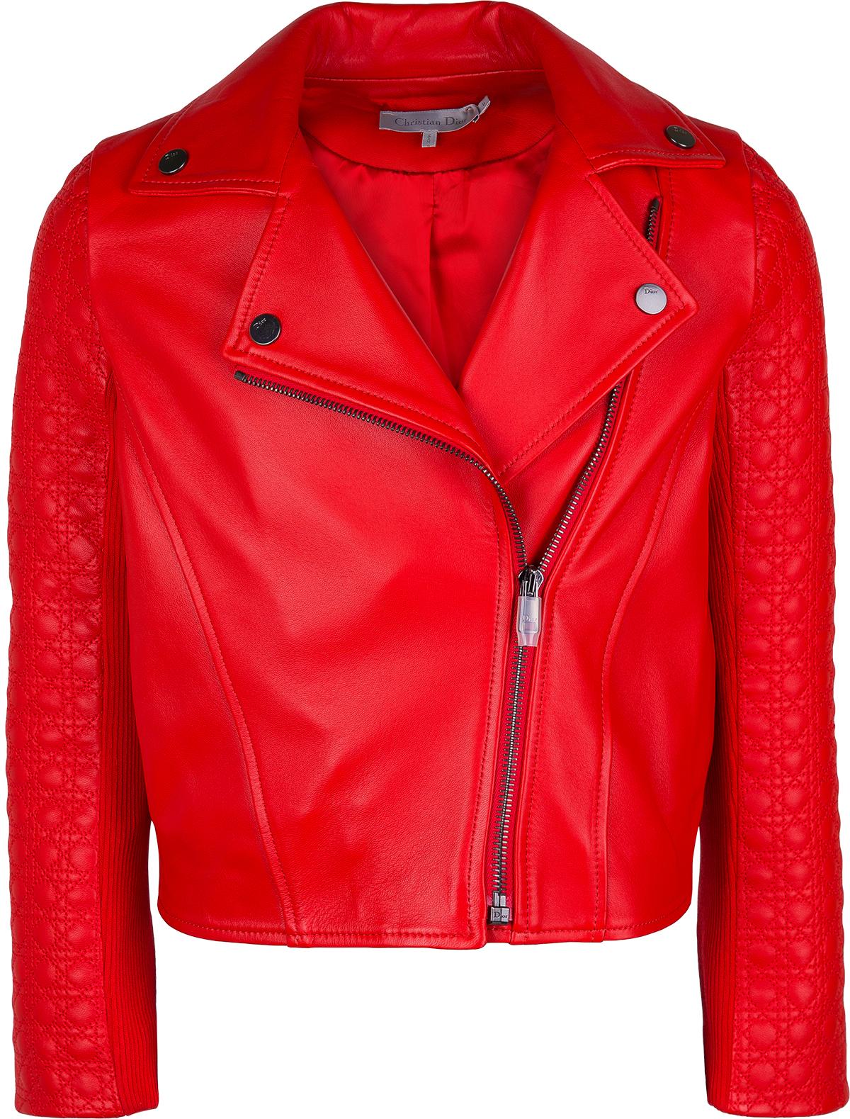 Купить 1873435, Куртка Dior, красный, Женский, 1071308770031