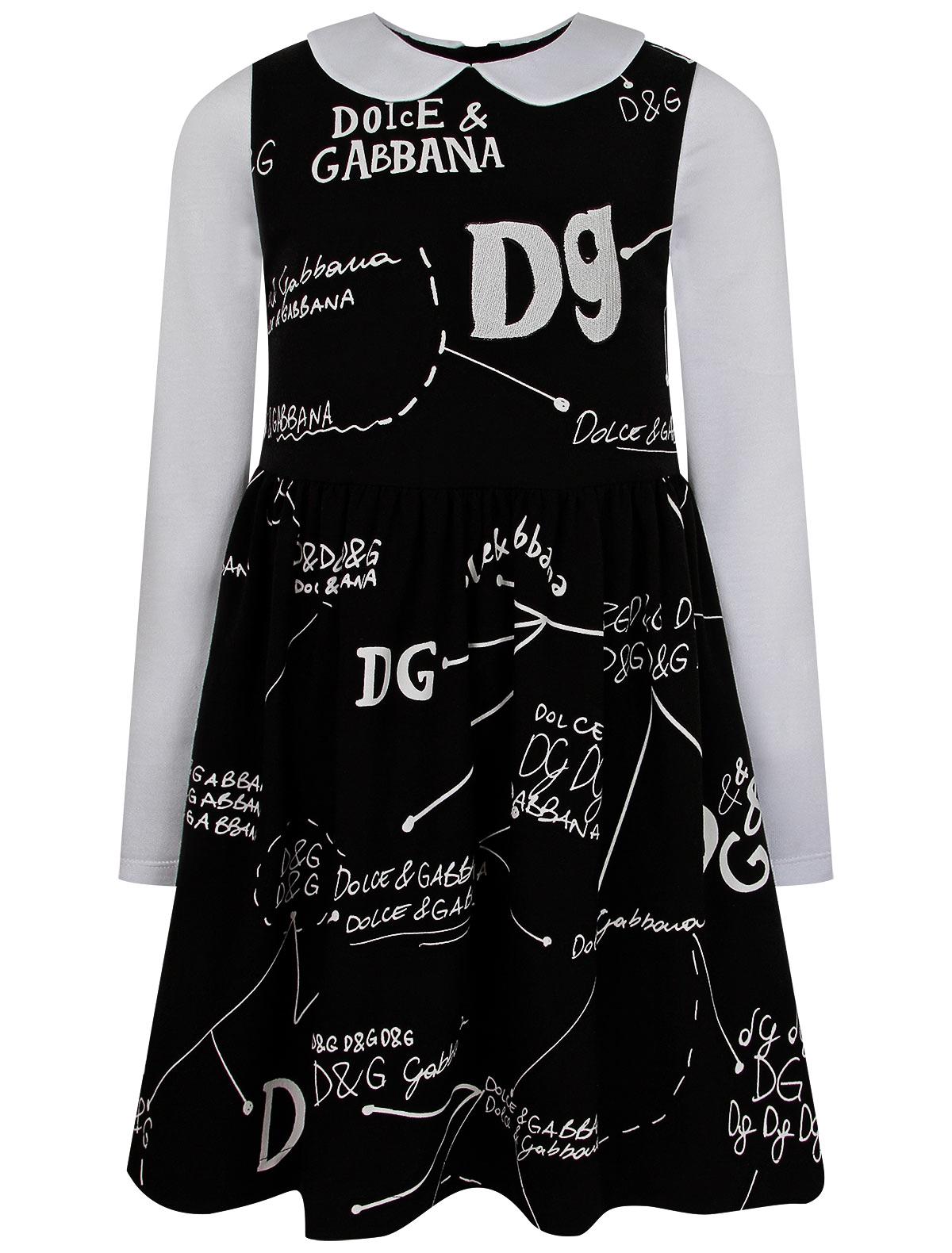 2246427, Платье Dolce & Gabbana, черный, Женский, 1054609082706  - купить со скидкой
