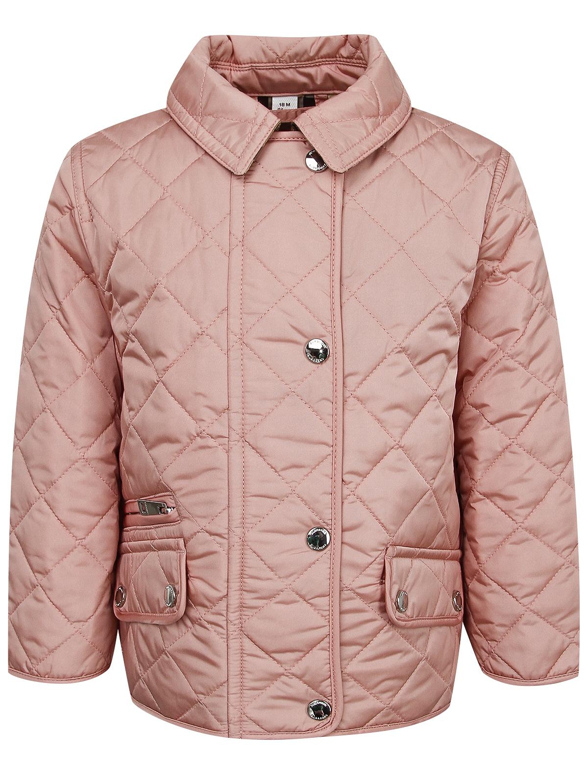 Купить 2037414, Куртка Burberry, розовый, Женский, 1072609980136