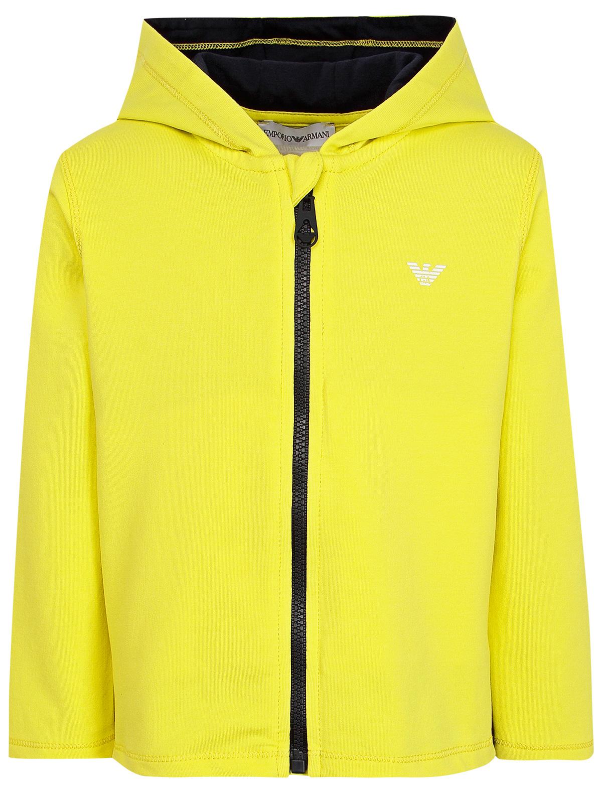 Купить 2019391, Толстовка EMPORIO ARMANI, желтый, Мужской, 0072819970102