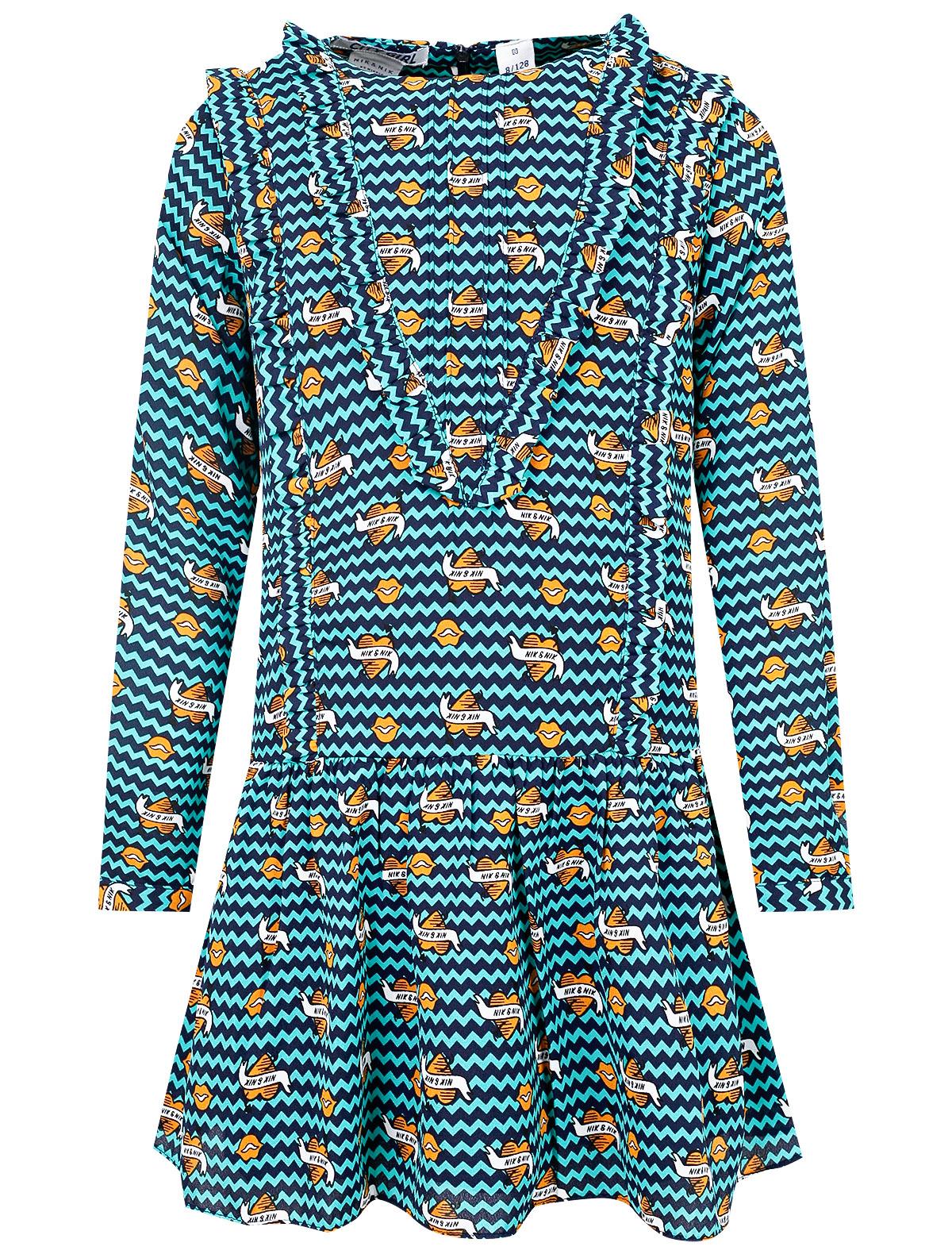 Купить 2123335, Платье NIK & NIK, зеленый, Женский, 1052209980088
