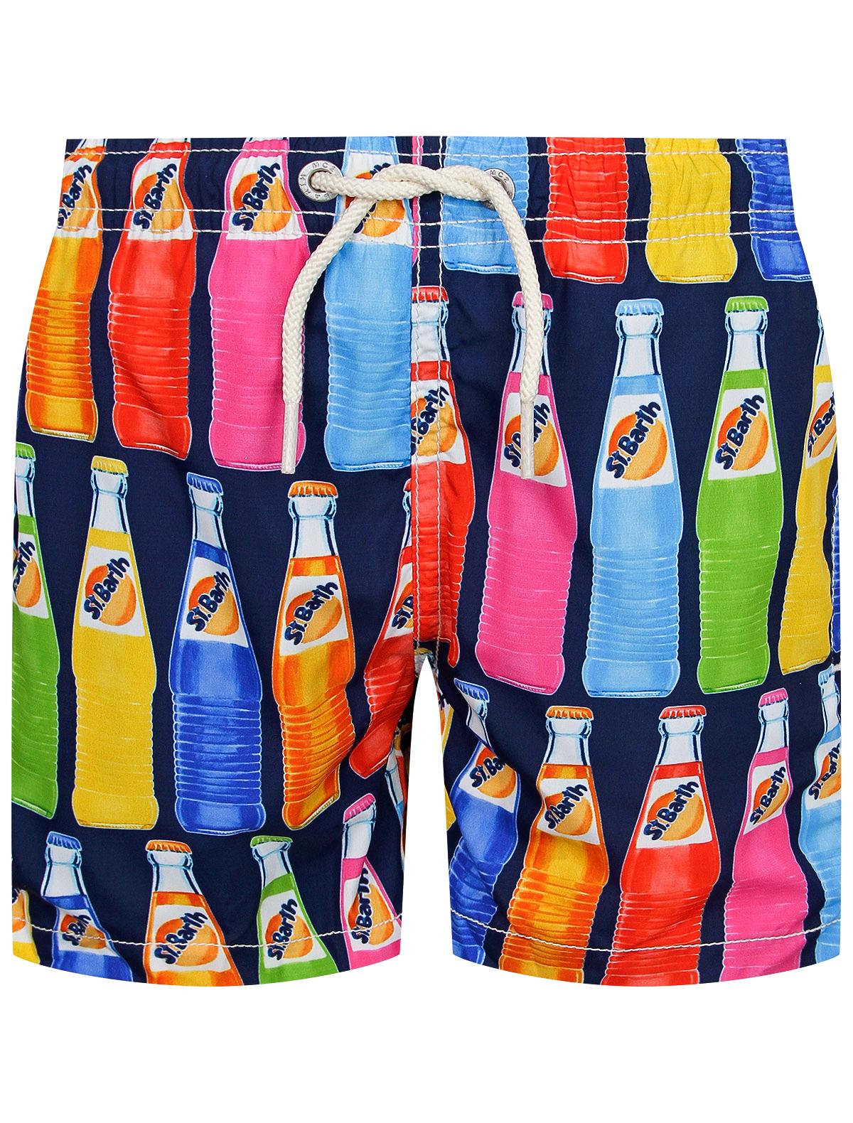 Купить 2217437, Шорты пляжные MC2 Saint Barth, разноцветный, Мужской, 4104519071516