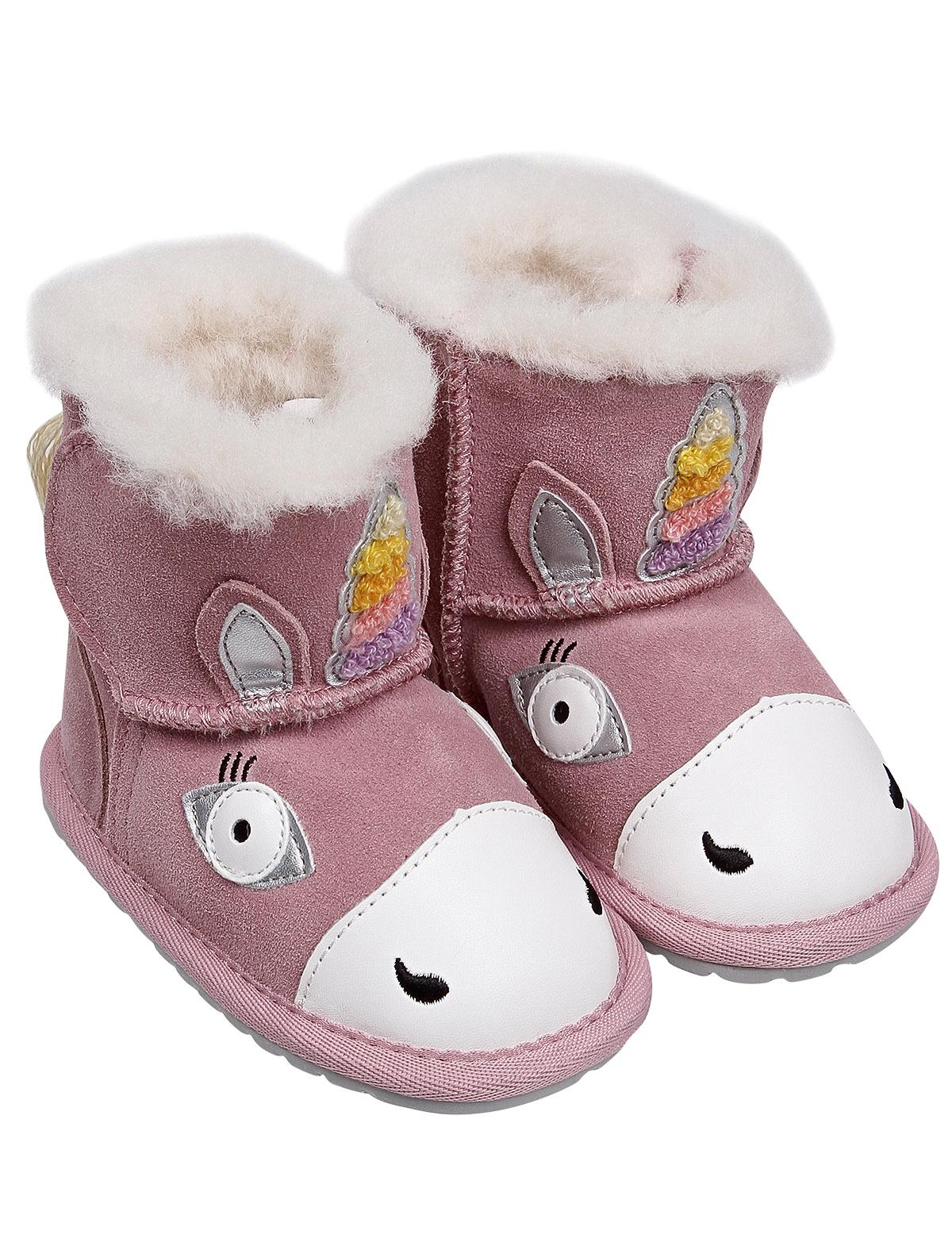 Купить 2255761, Сапоги Emu Australia, розовый, Женский, 2024509081887