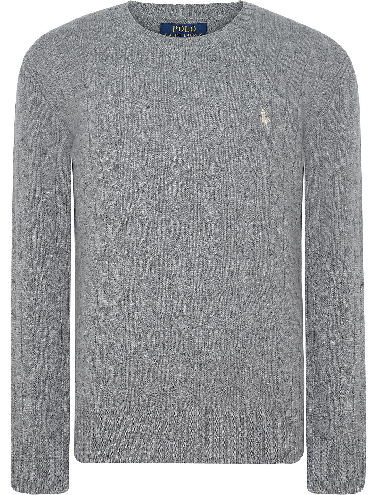 Купить 1894164, Джемпер Ralph Lauren, серый, Мужской, 1261719780068
