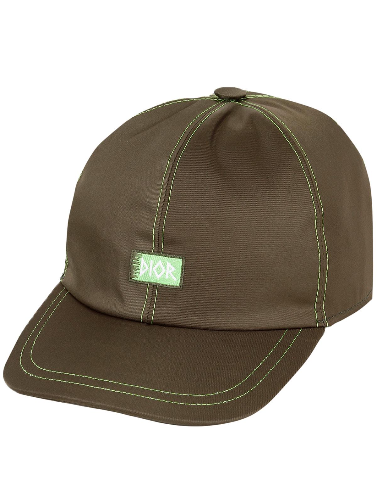 Купить 2172730, Кепка Dior, зеленый, Мужской, 1184519070071