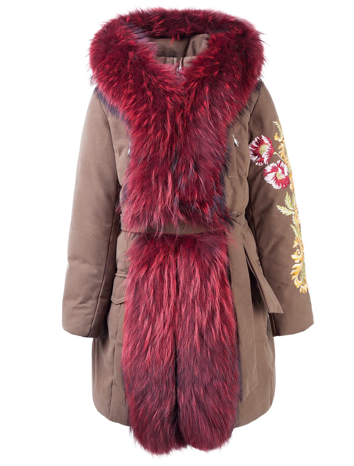 1880191, Пальто Manudieci, разноцветный, Женский, 1122309780168  - купить со скидкой