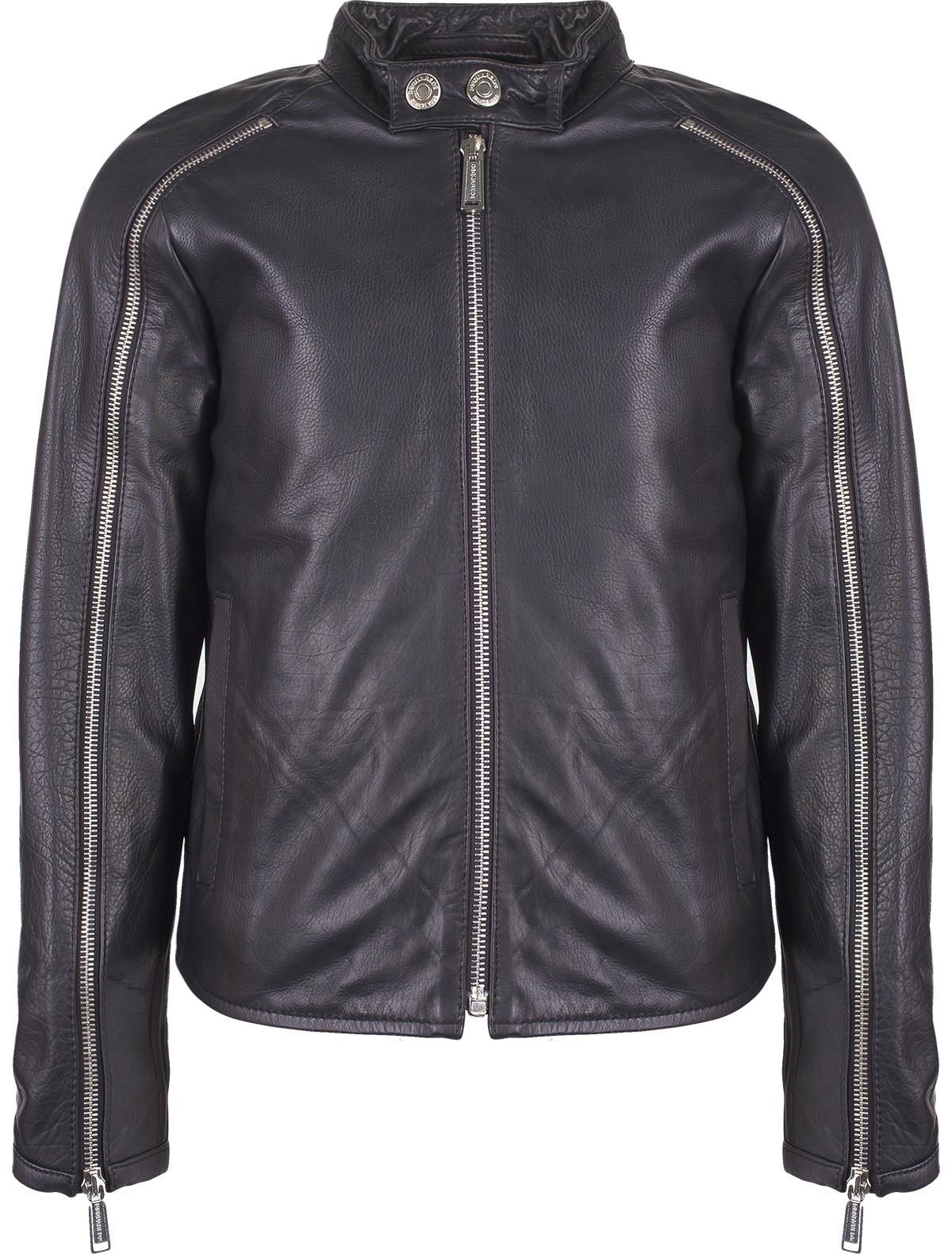 Купить 1844911, Куртка Dsquared2, черный, Мужской, 1071119680024