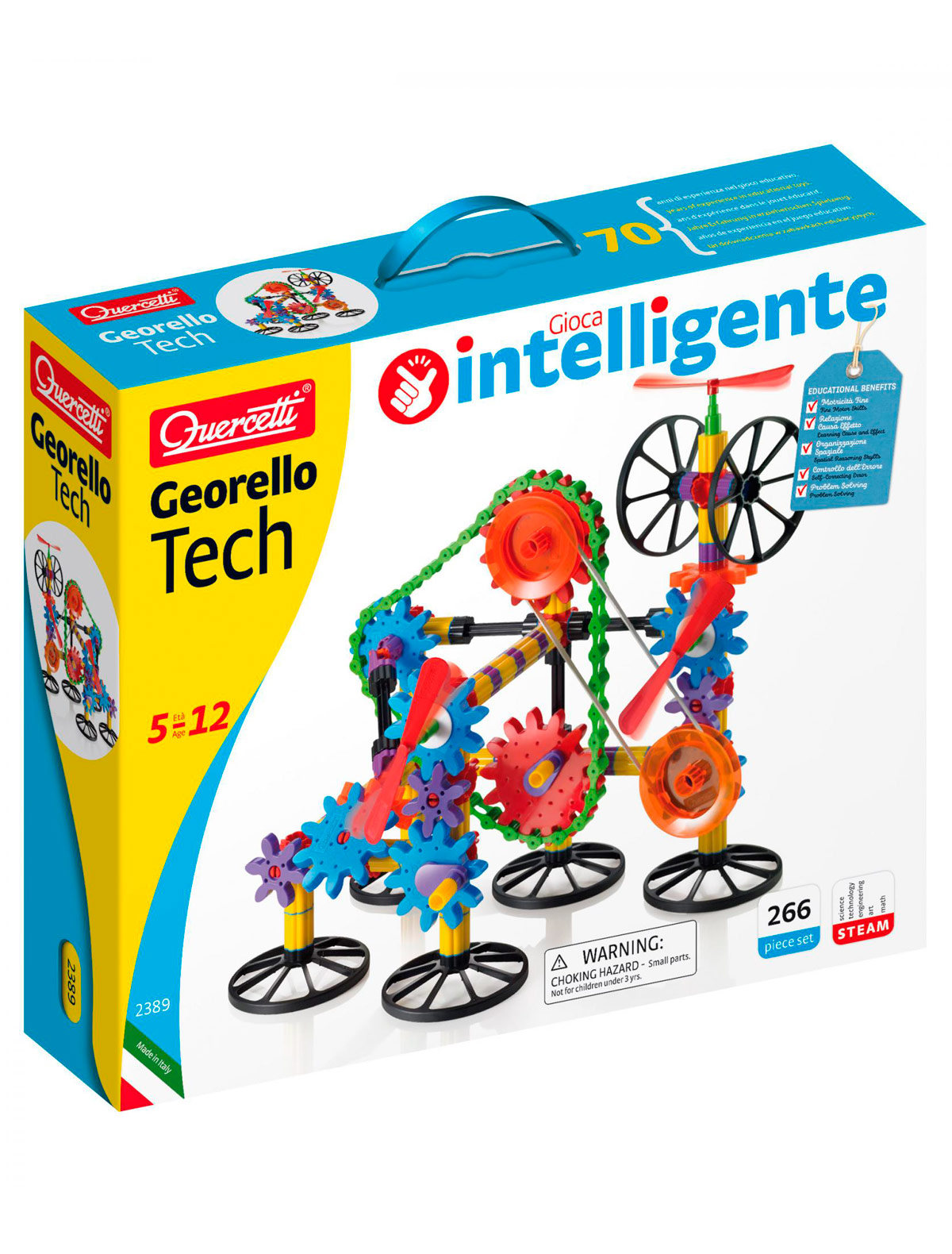 Купить 2146236, Игрушка QUERCETTI, разноцветный, 7132529982253
