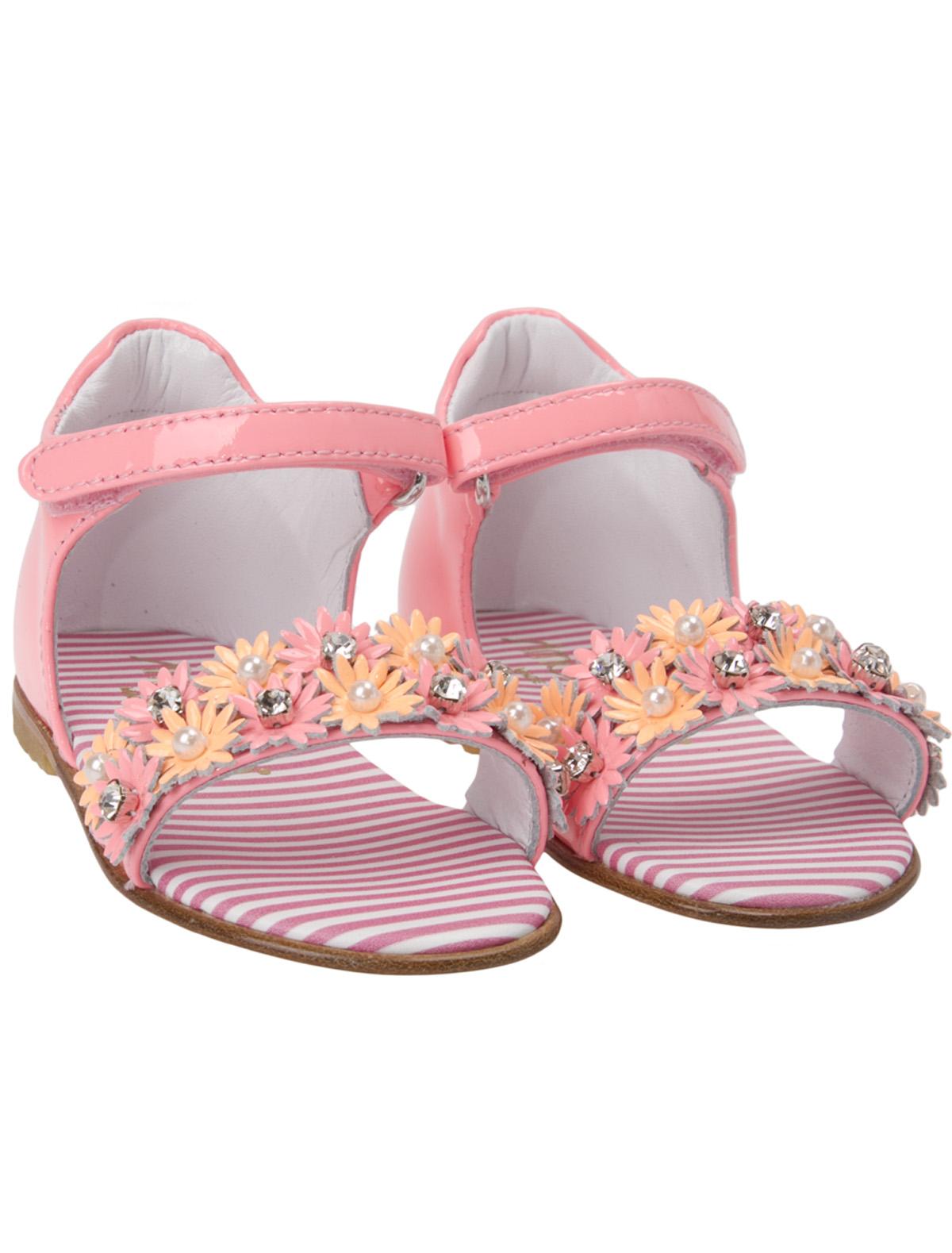 Босоножки Simonetta розового цвета