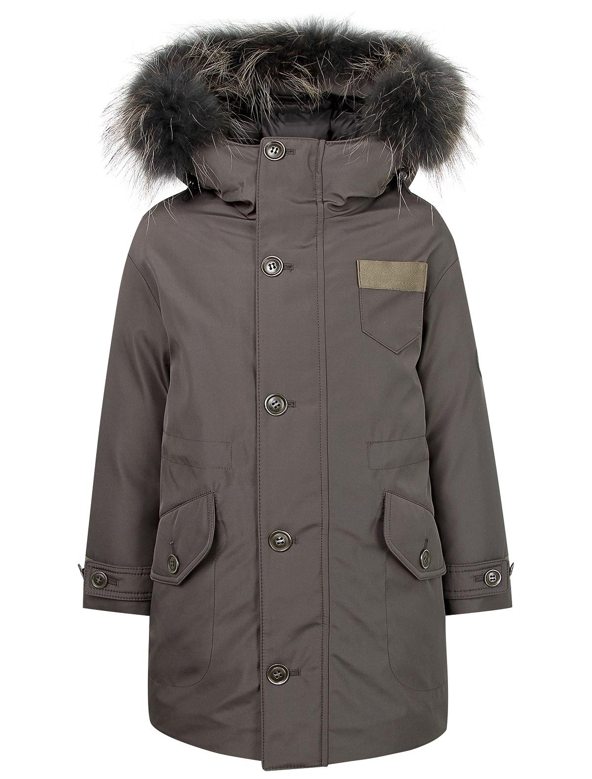 Купить 2121526, Куртка Jums Kids, серый, Мужской, 1071719980173