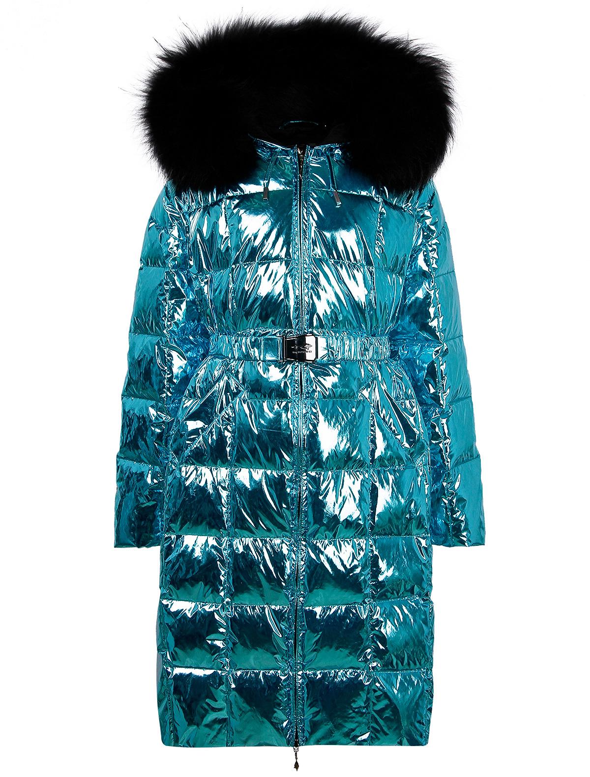 Купить 2261347, Пальто Manudieci, голубой, Женский, 1124509081076
