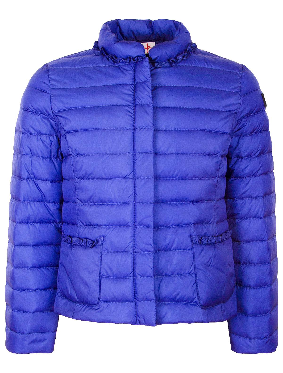 Купить 1873594, Куртка Il Gufo, синий, Женский, 1071409870029